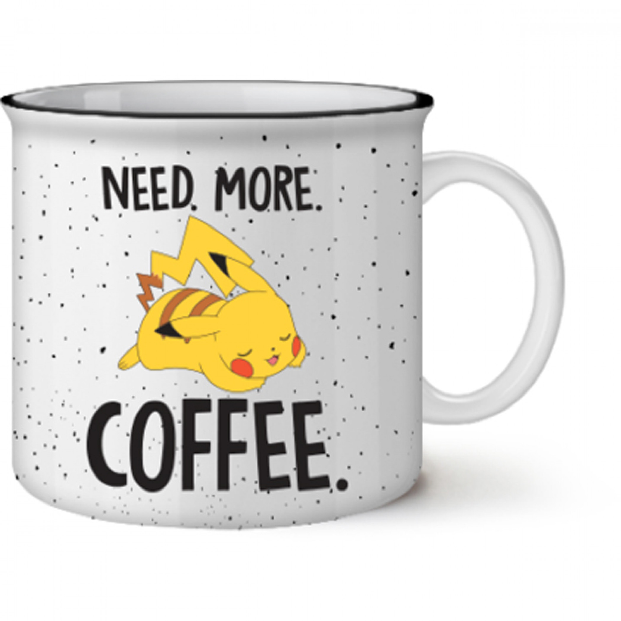 Pokemon Pikachu Need More Coffee Mug