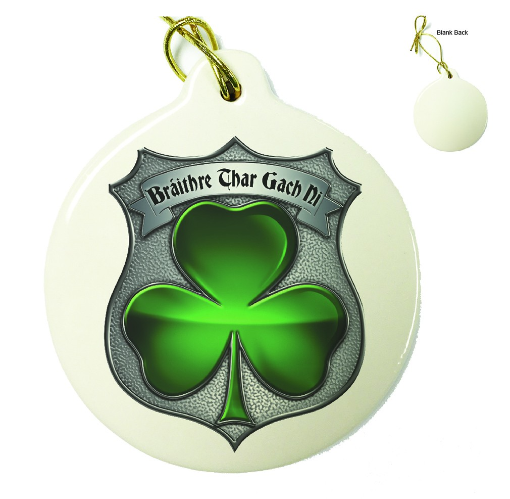 Policeman's Brotherhood Irish Porcelain Ornament