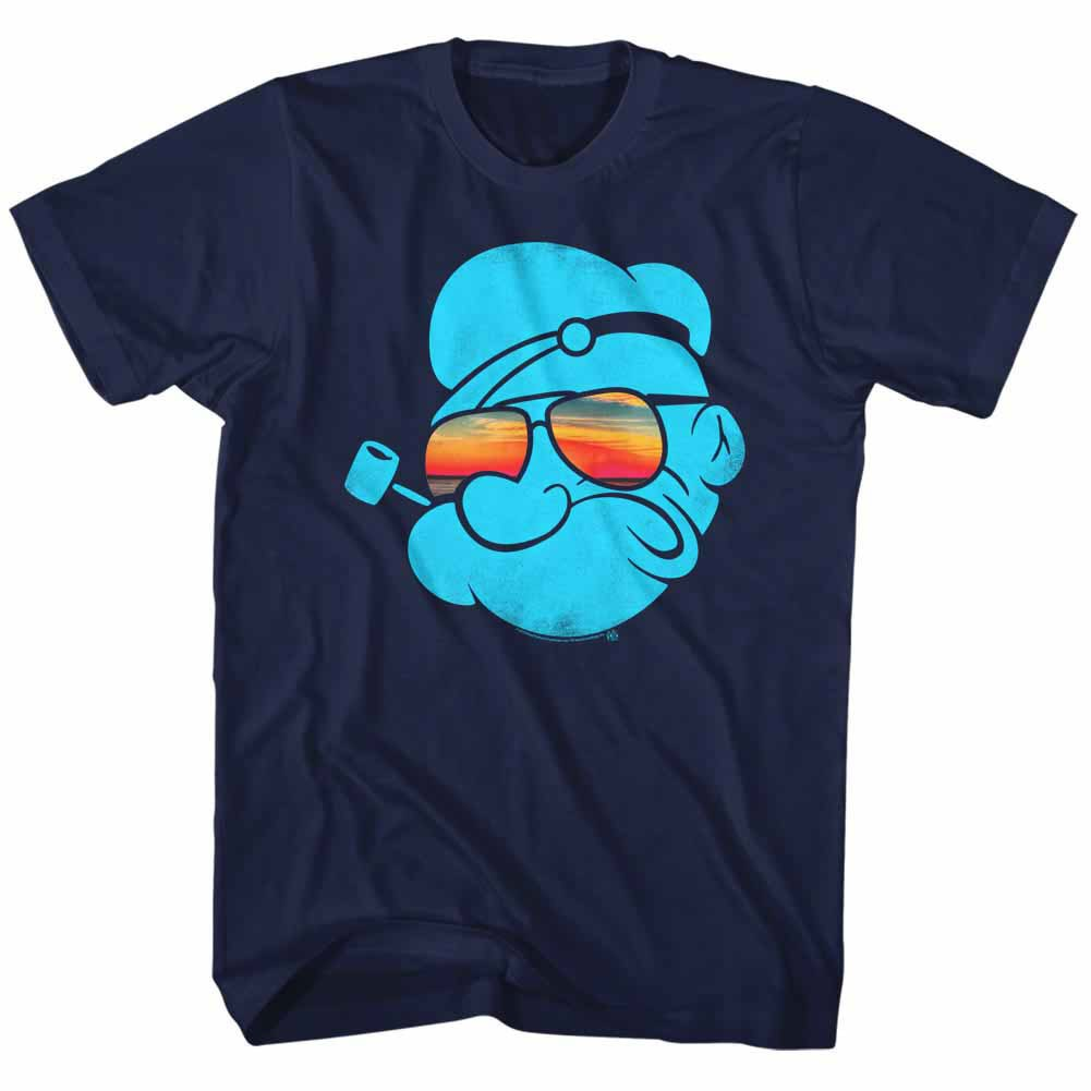 Popeye Aviators Blue T-Shirt