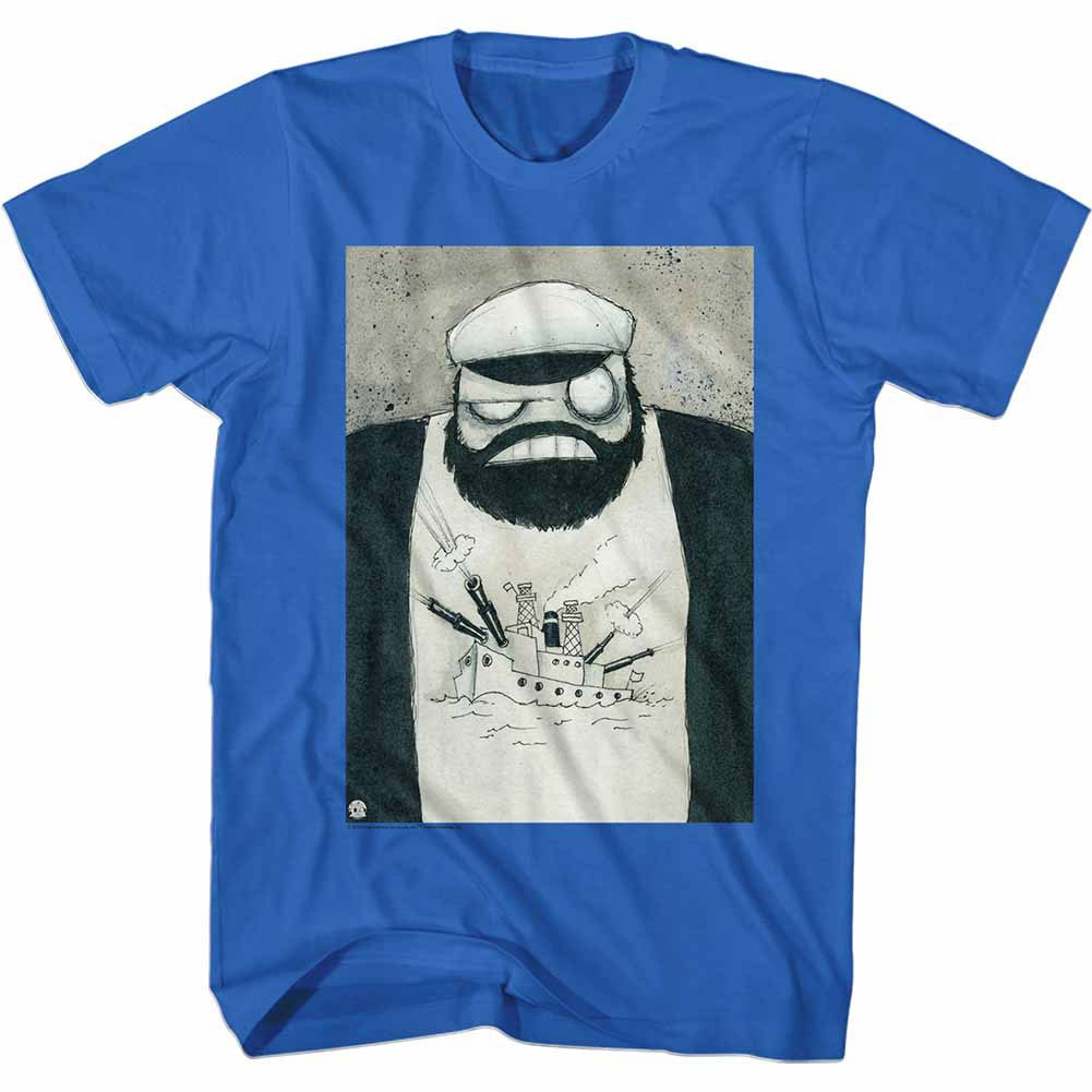 Popeye Crazy Brut Blue T-Shirt