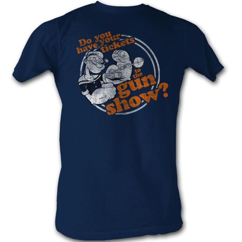 Popeye Gun Show T-Shirt