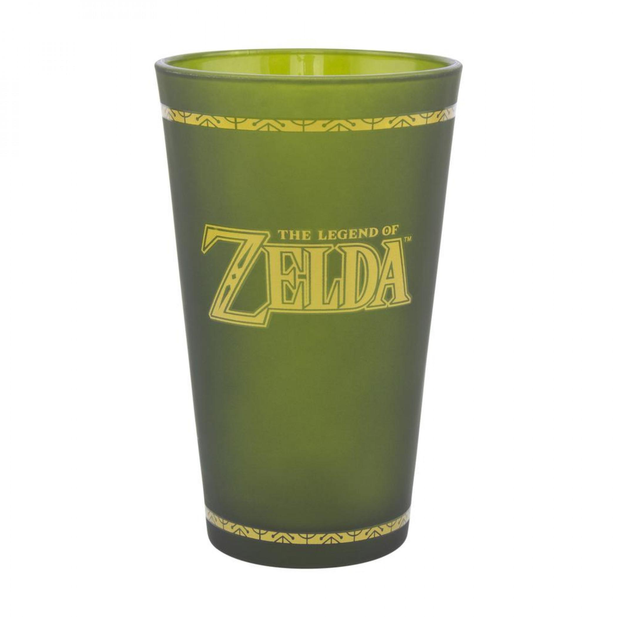 The Legend of Zelda Hyrule Crest Pint Glass