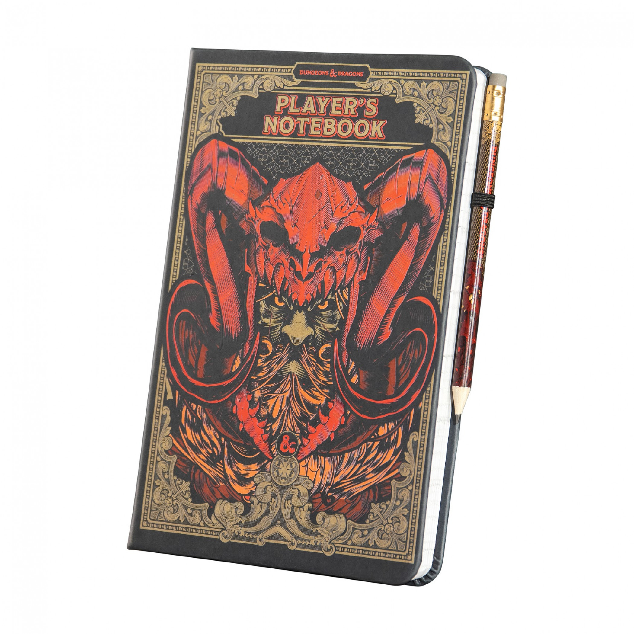 Dungeons and Dragons Notebook and Pencil