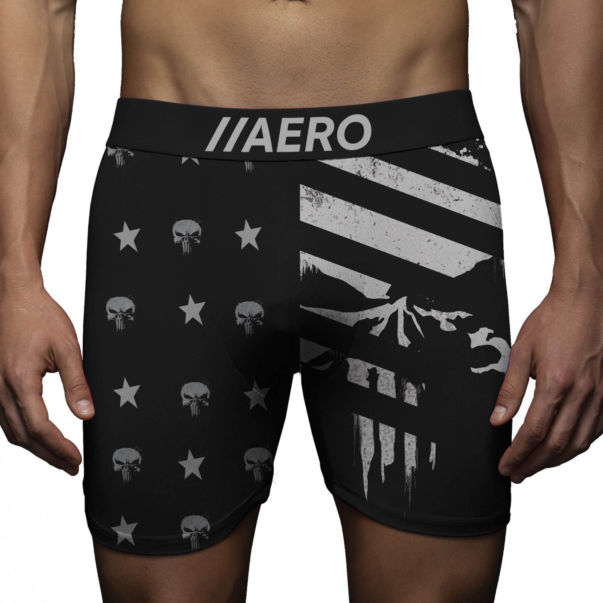 Punisher Americana Boxer Briefs