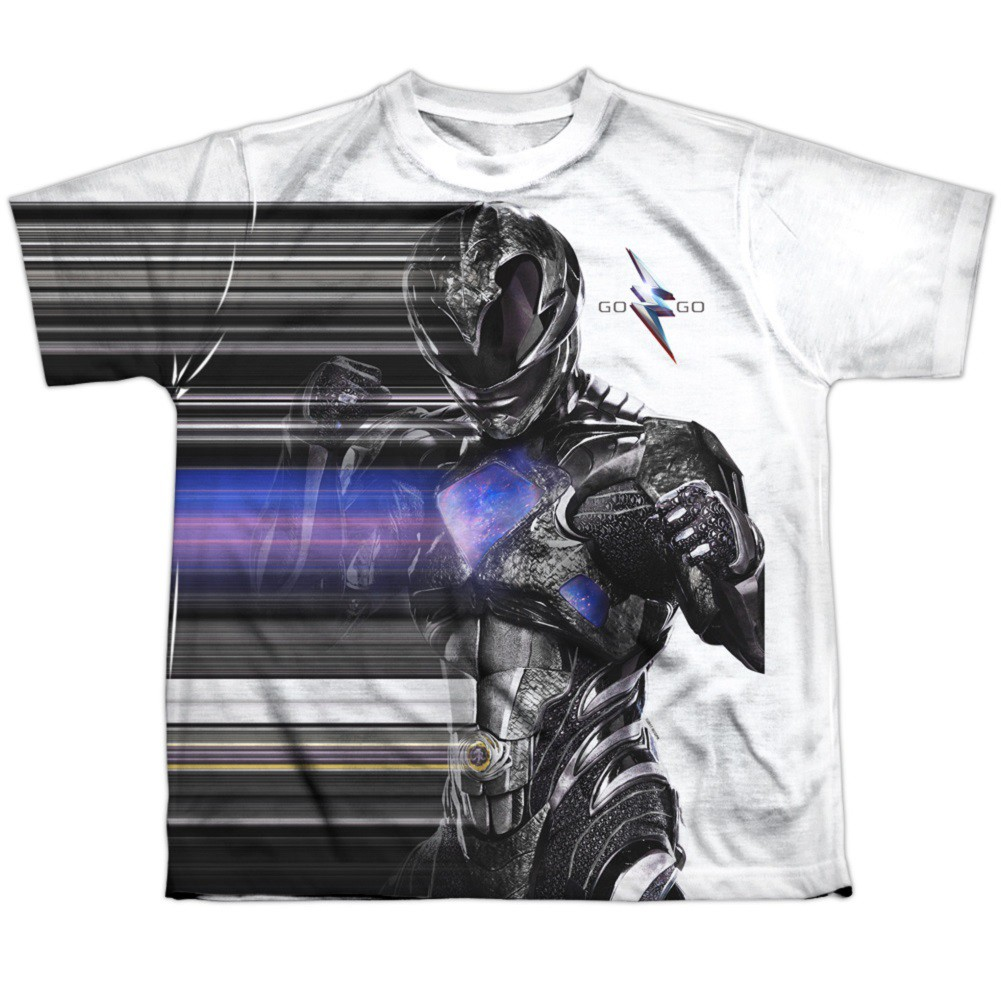 Power Rangers The Movie Black Streak Youth Tshirt