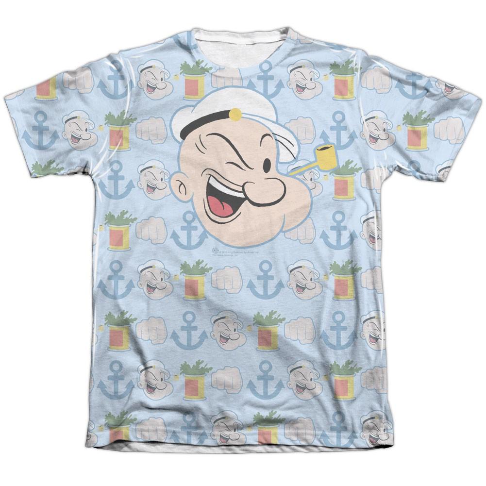 Popeye Symbols Sublimation T-Shirt
