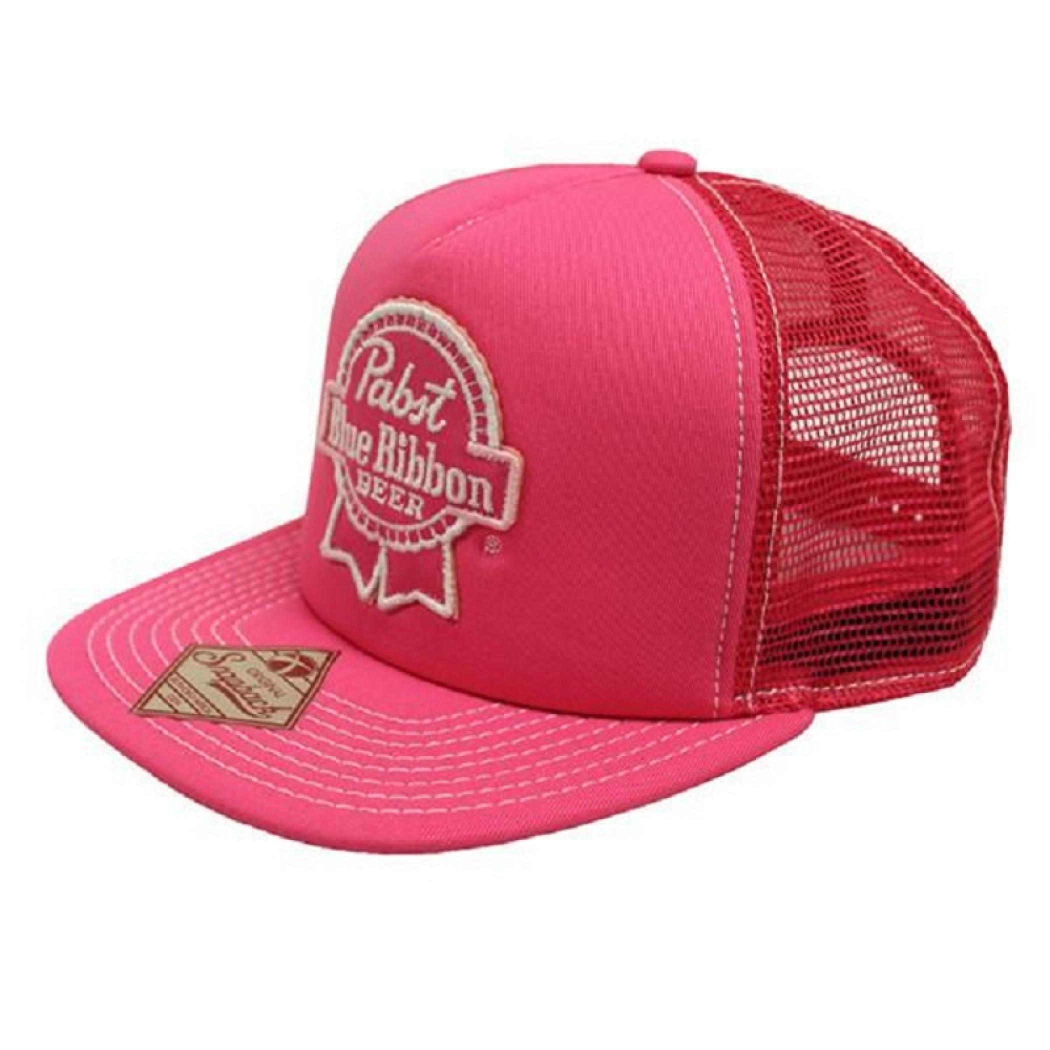 PBR Pink Trucker Hat
