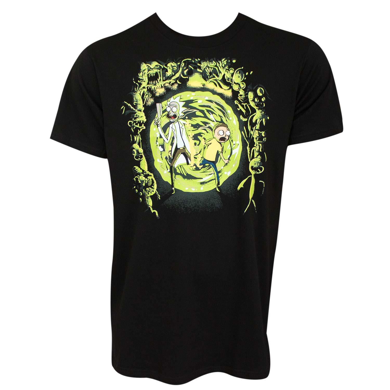 Rick And Morty Portal Tee Shirt