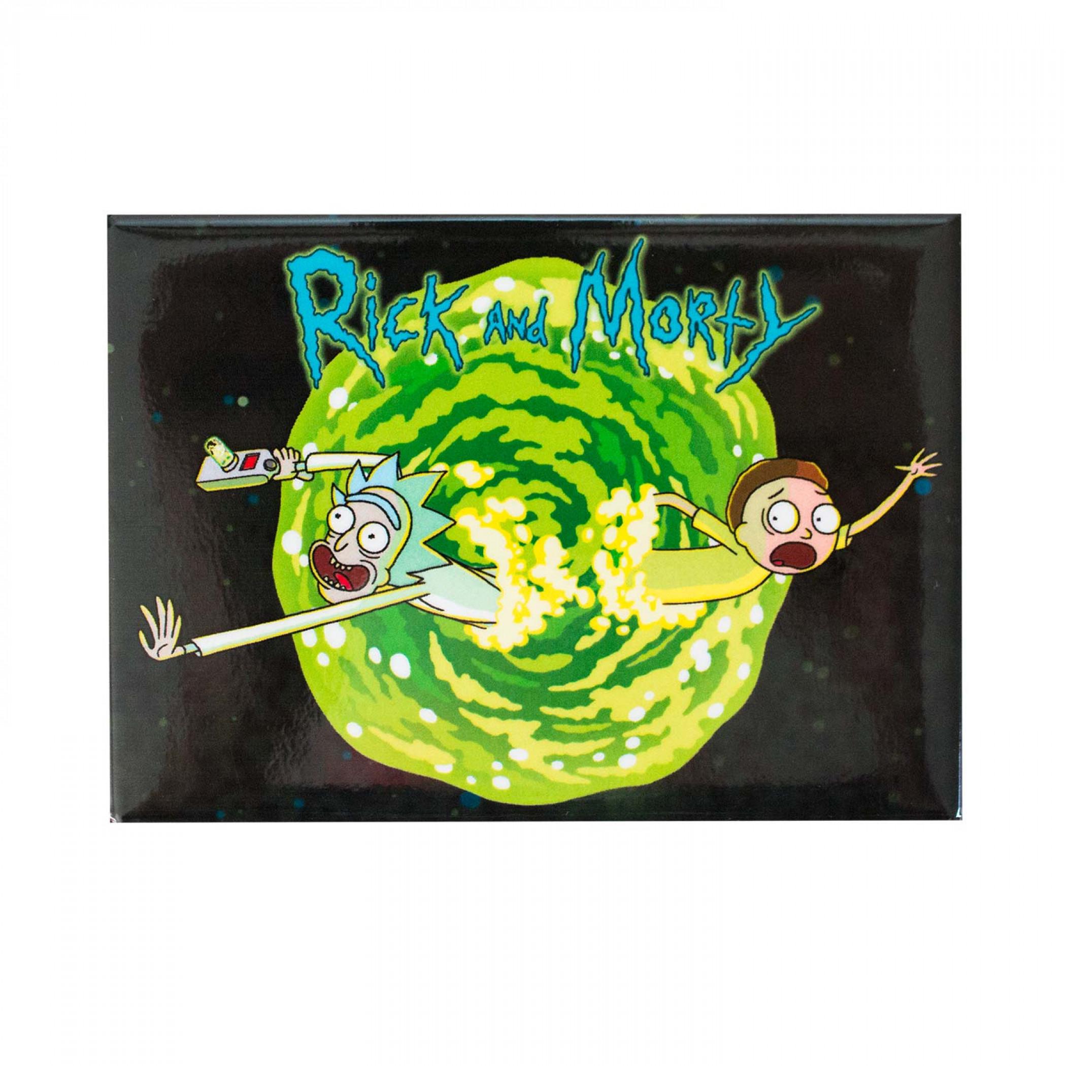 Rick And Morty Vortex Magnet