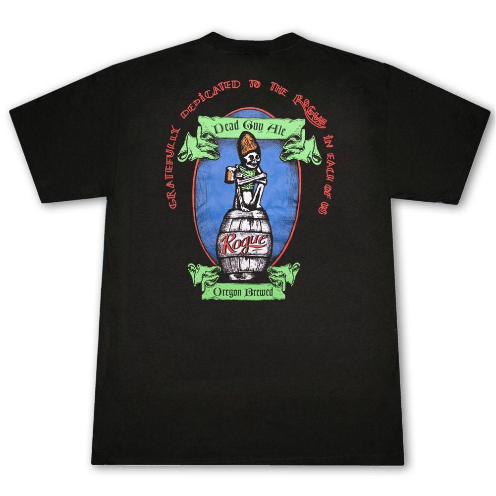 Rogue Ales Dead Guy Black Graphic T-Shirt