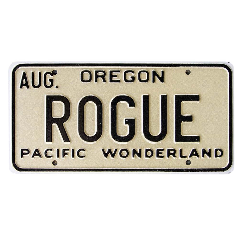 Rogue Beer License Plate Sign