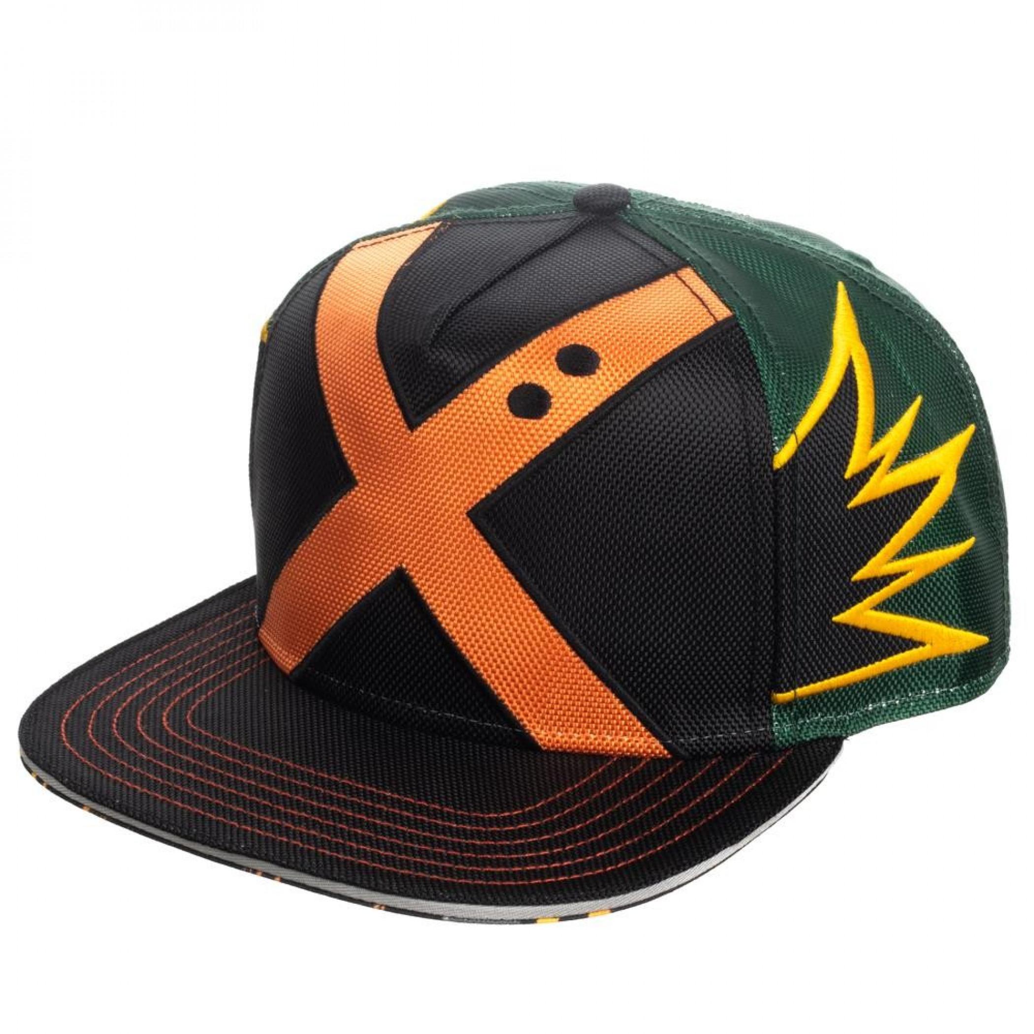 My Hero Academia Bakugo Suit Up Snapback Hat