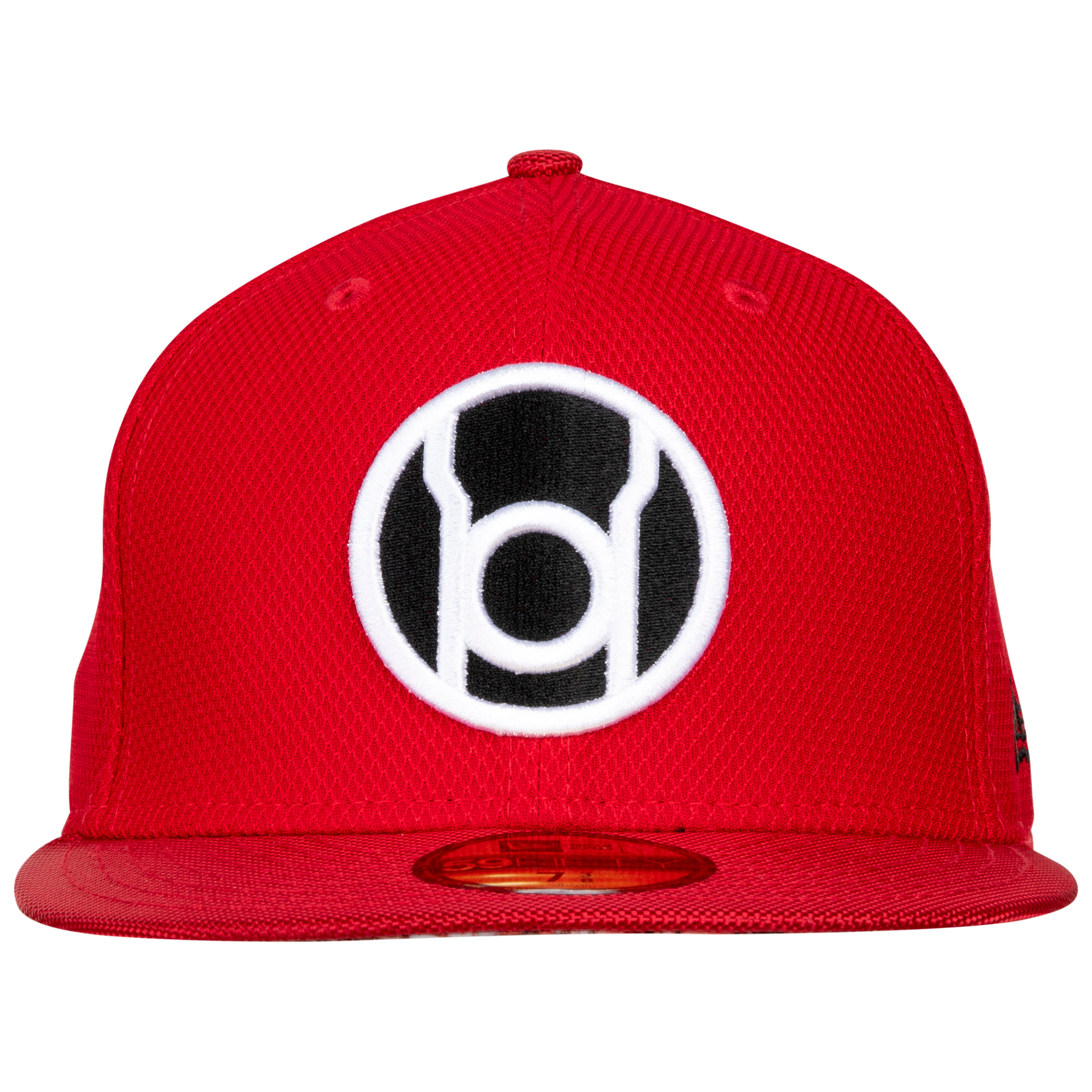 Red Lantern Symbol Armor New Era 59Fifty Fitted Hat