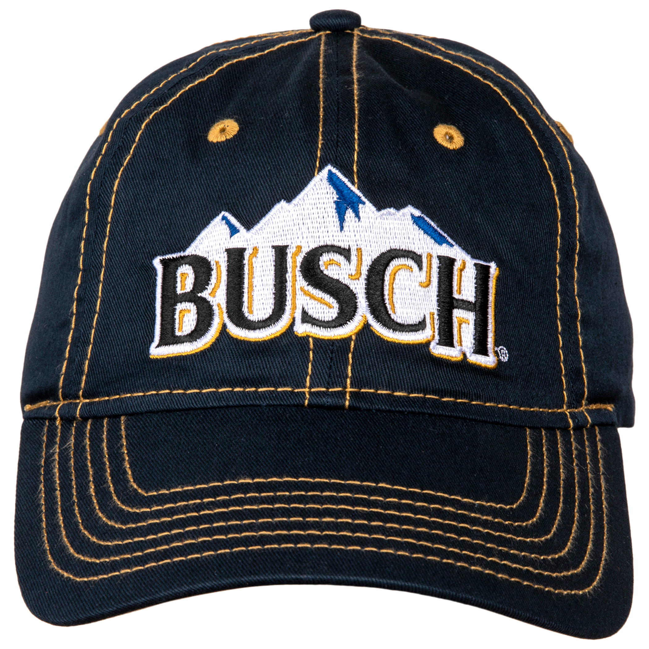 Busch Beer Logo Adjustable Velcro Hat