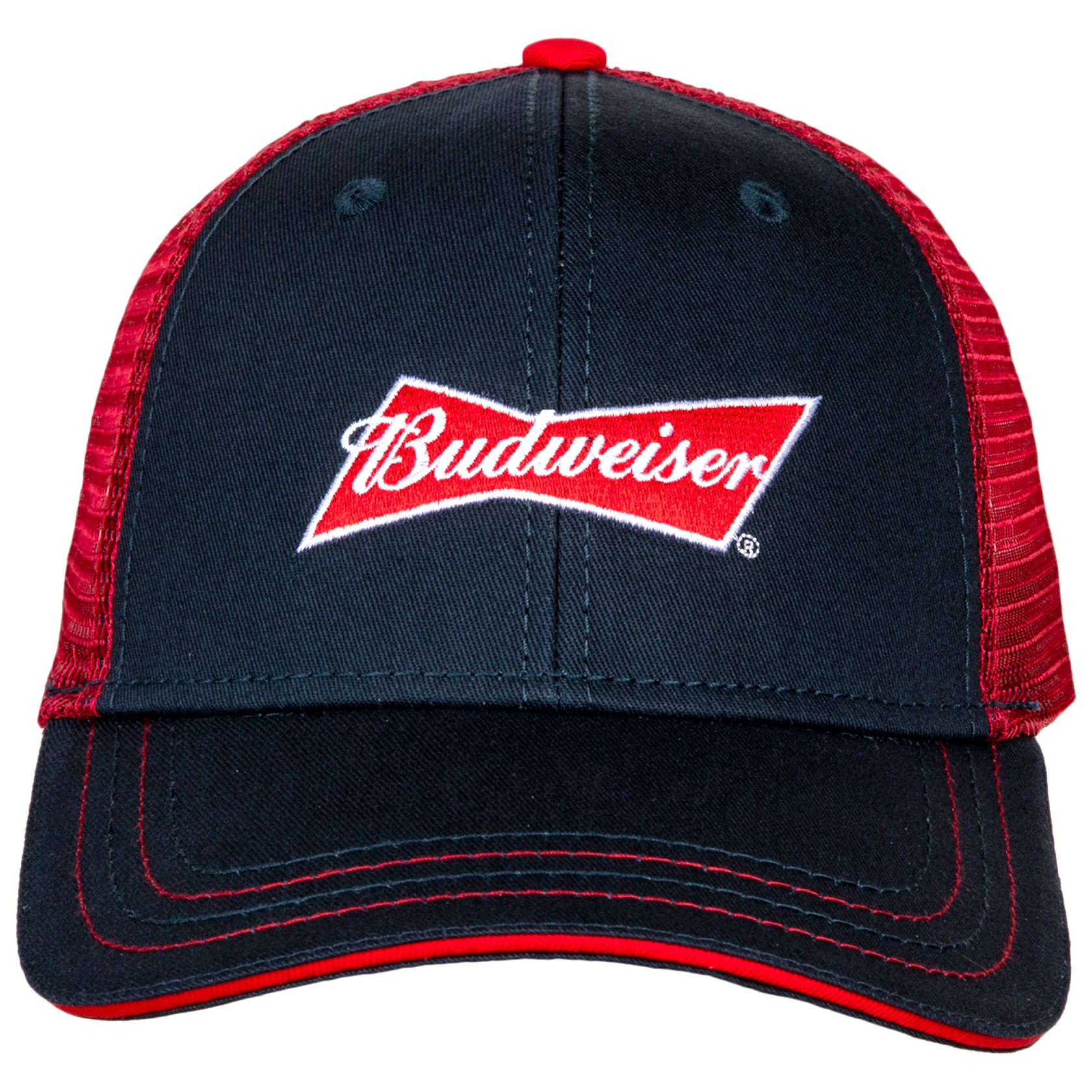 Budweiser Logo Adjustable Snapback Trucker Hat