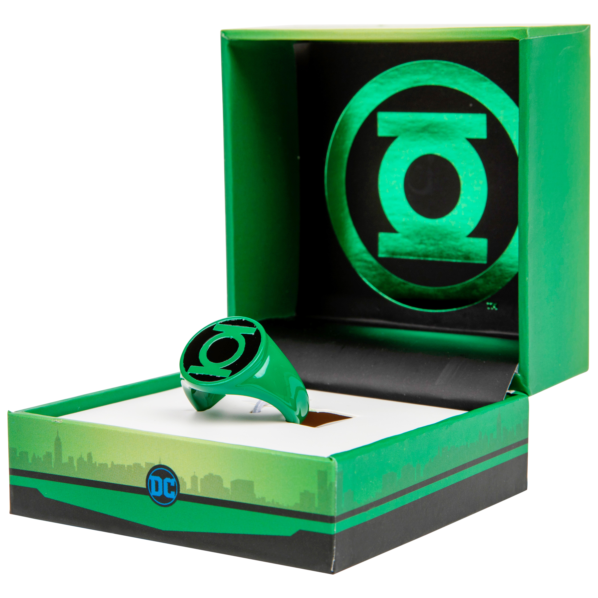 Green Lantern Green and Black Power Ring