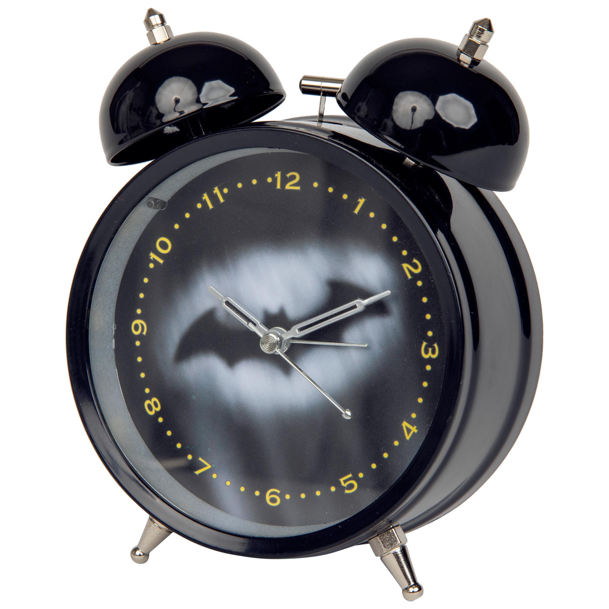 Batman Hush Symbol Night Sky Alarm Clock