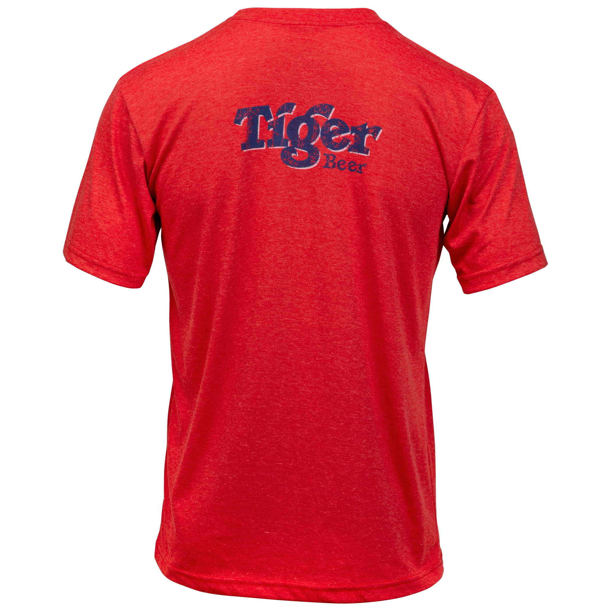 Tiger Beer Vintage Distressed Style T-Shirt