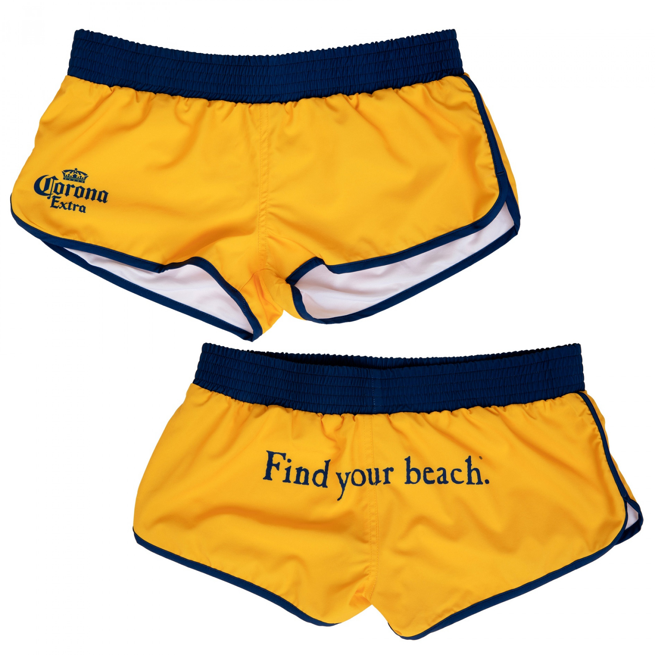 Corona Extra Crown Find Your Beach Shorts