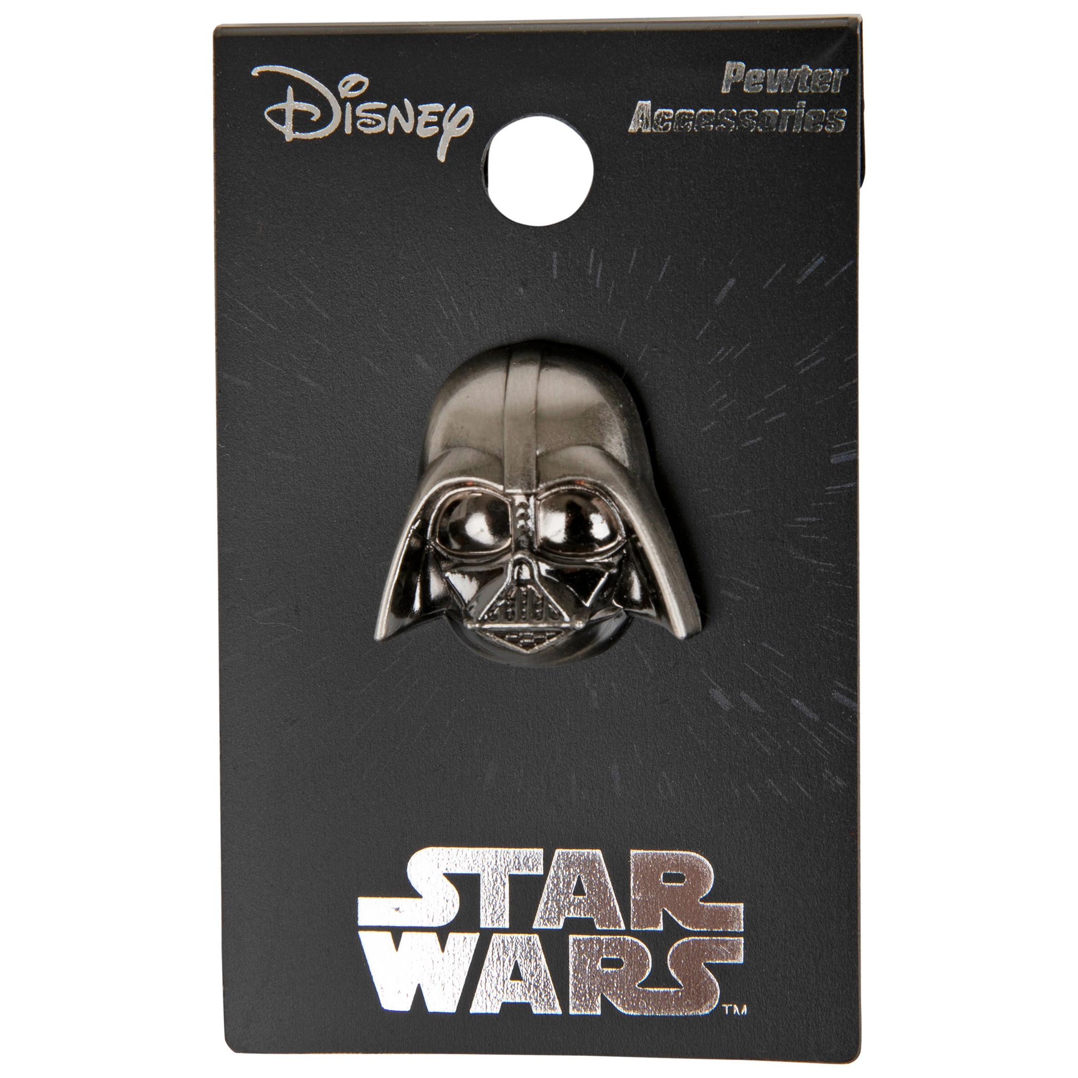 Star Wars Darth Vader Helmet Pewter Lapel Pin