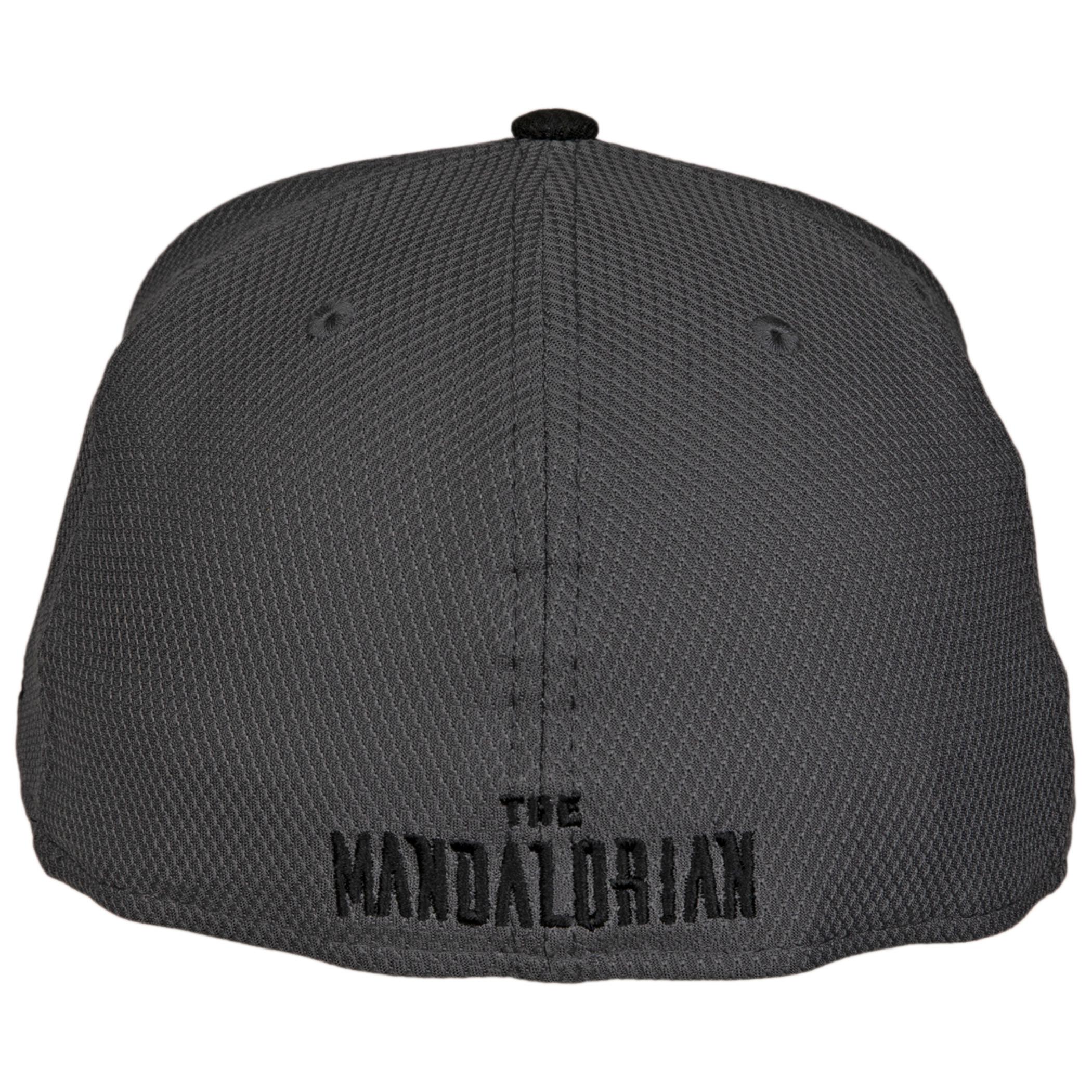 Star Wars Mandalorian Mudhorn Sigil Diamond Tech New Era 59Fifty Fitted Hat