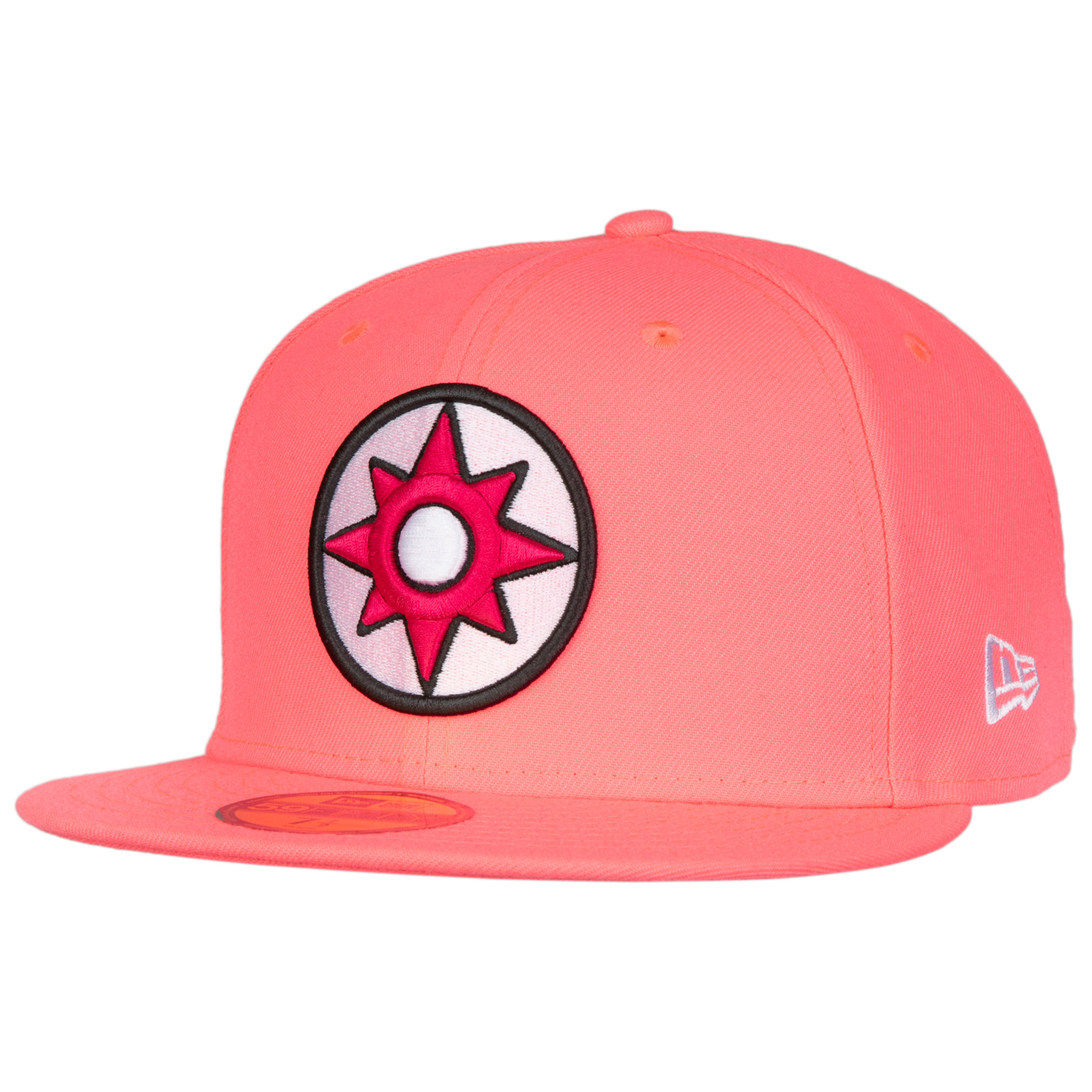 Pink Lantern Color Block New Era 59Fifty Fitted Hat