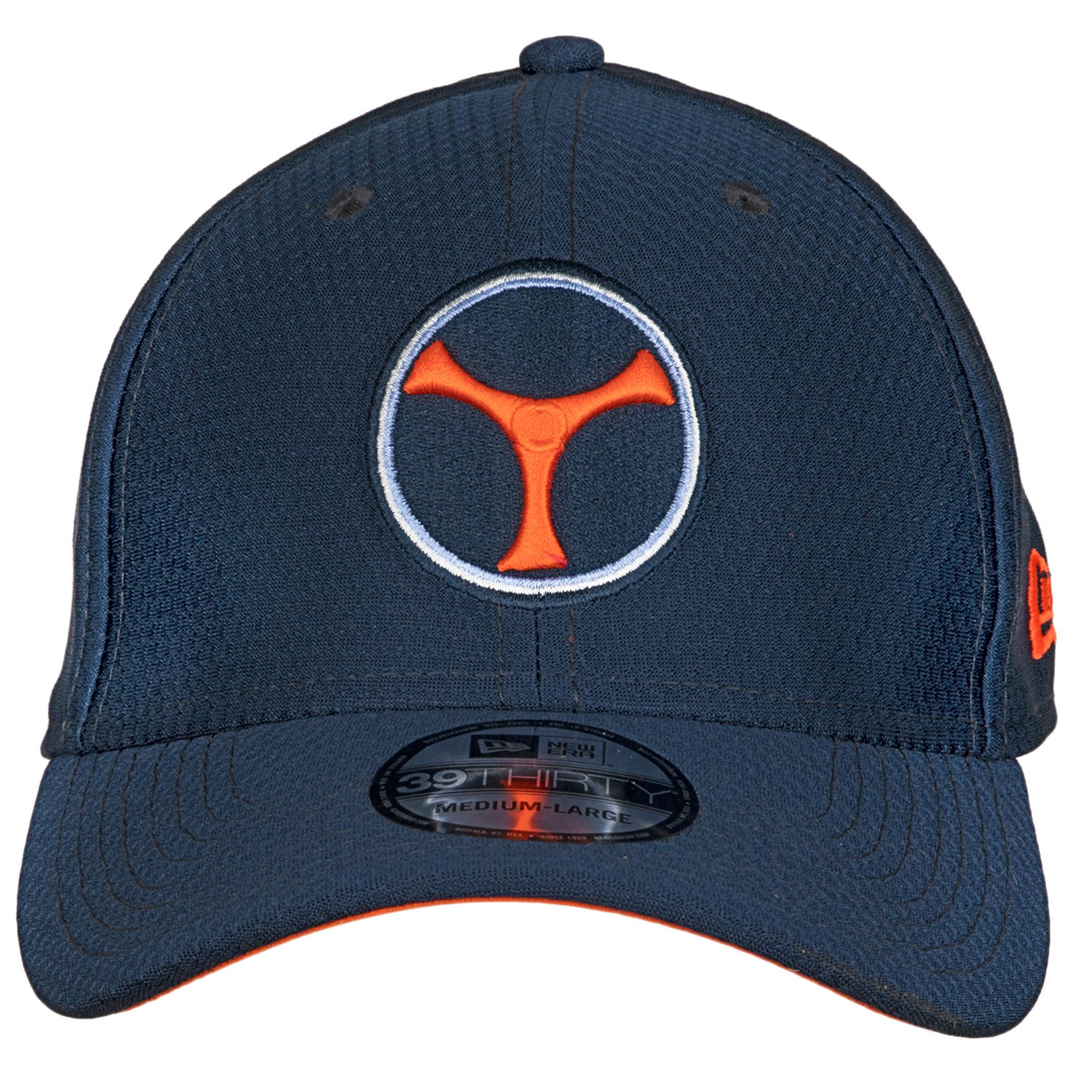 Taskmaster Symbol from Black Widow Movie New Era 39Thirty Flex Fitted Hat