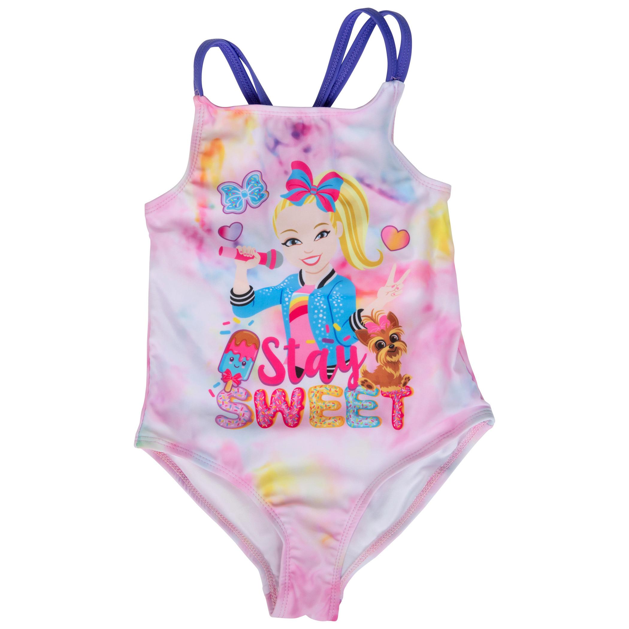 Jojo Siwa Stay Sweet One Piece Girls Youth Swimsuit