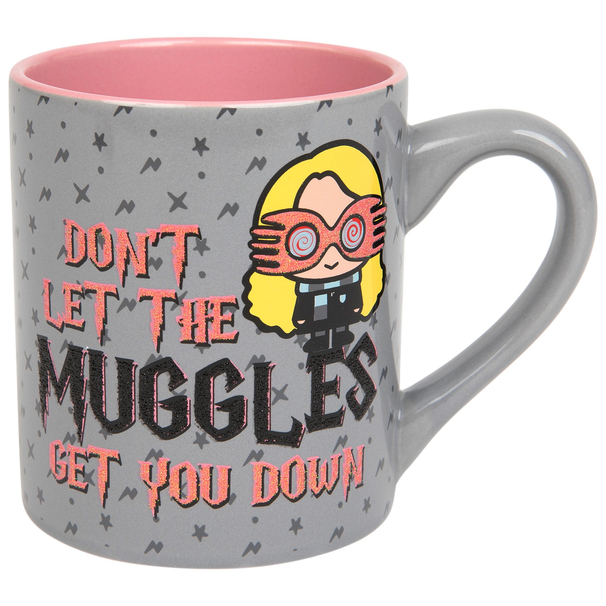 Harry Potter Don't Let the Muggles Get You Down 14 Ounce Ceramic Mug