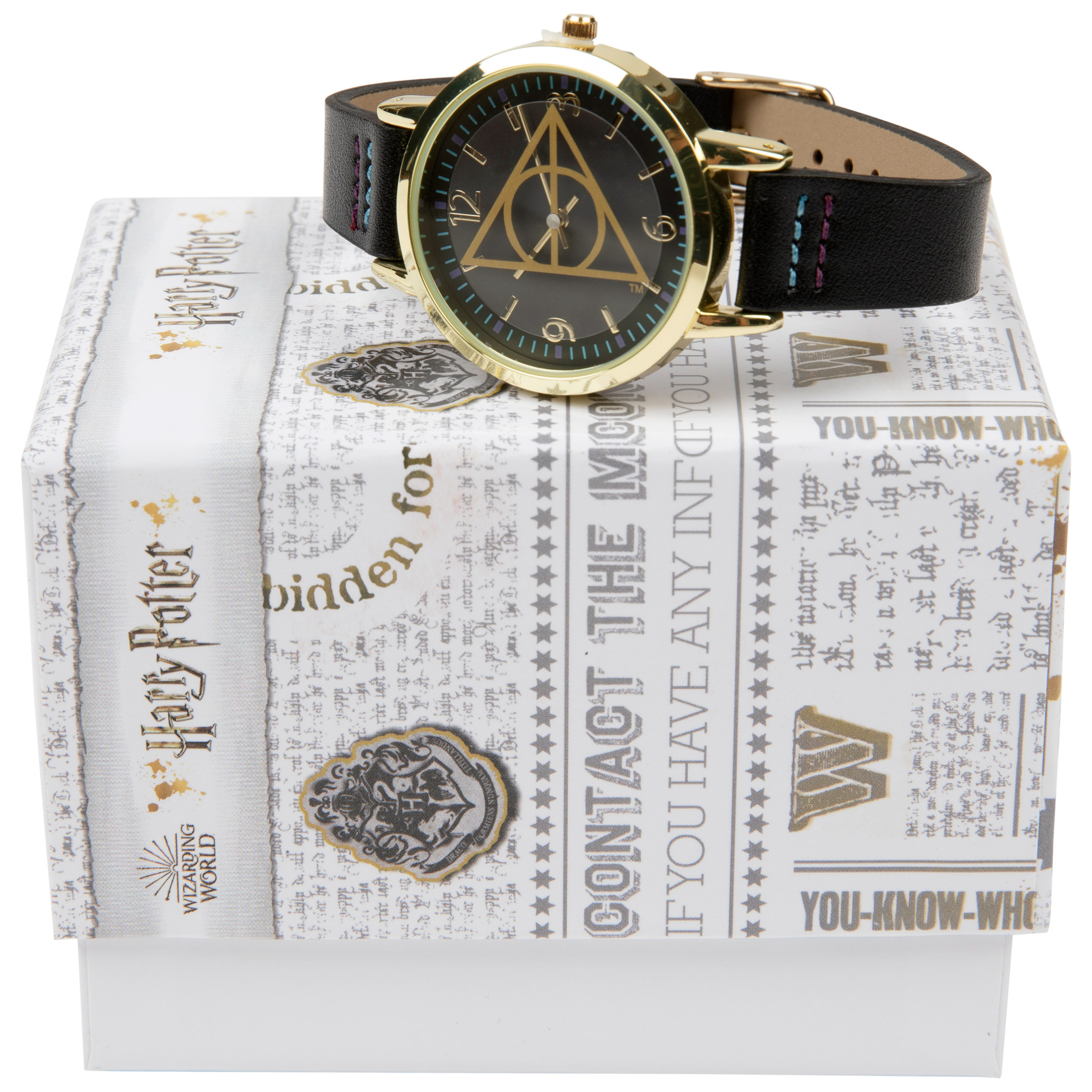 Harry Potter Deathly Hallows Symbol Watch