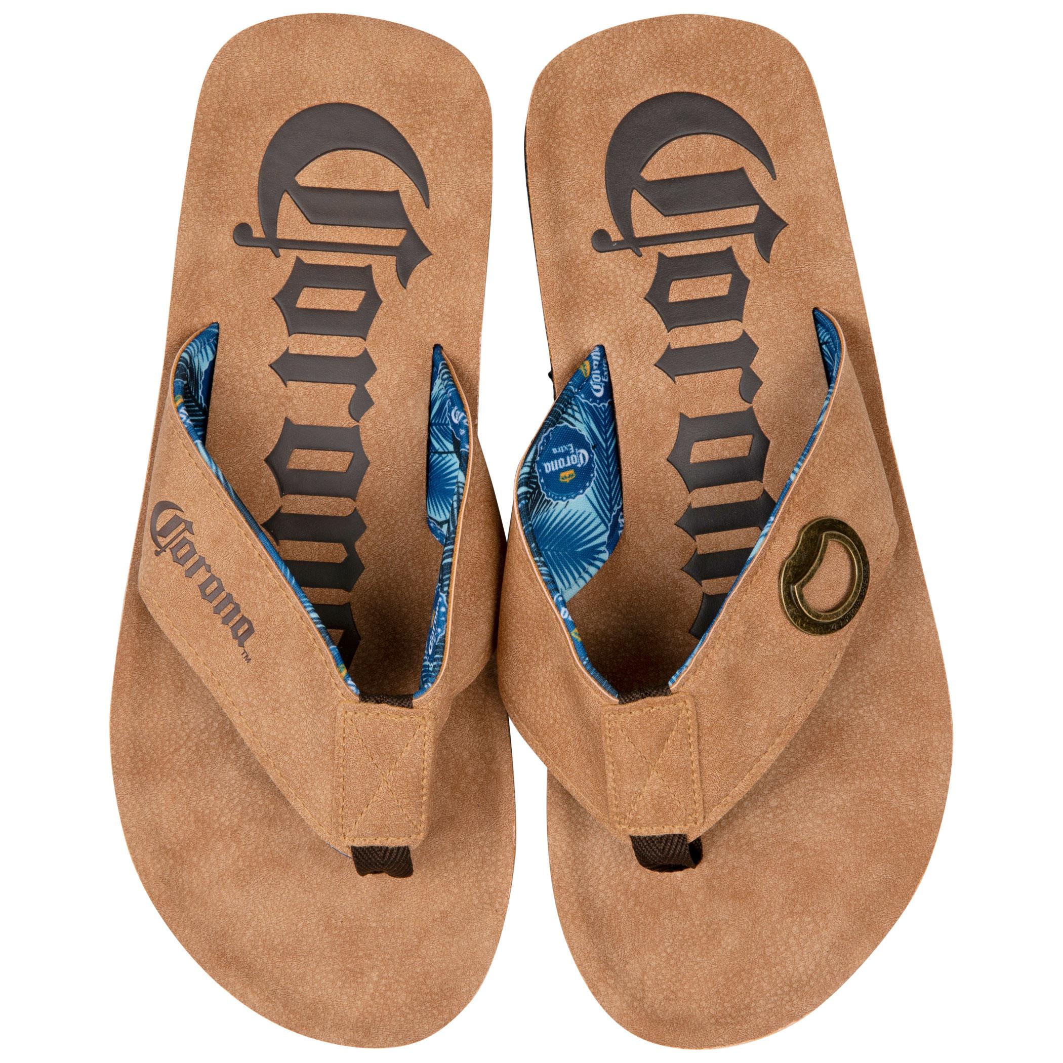 Corona Extra Bottle Opener Flip Flop Sandal