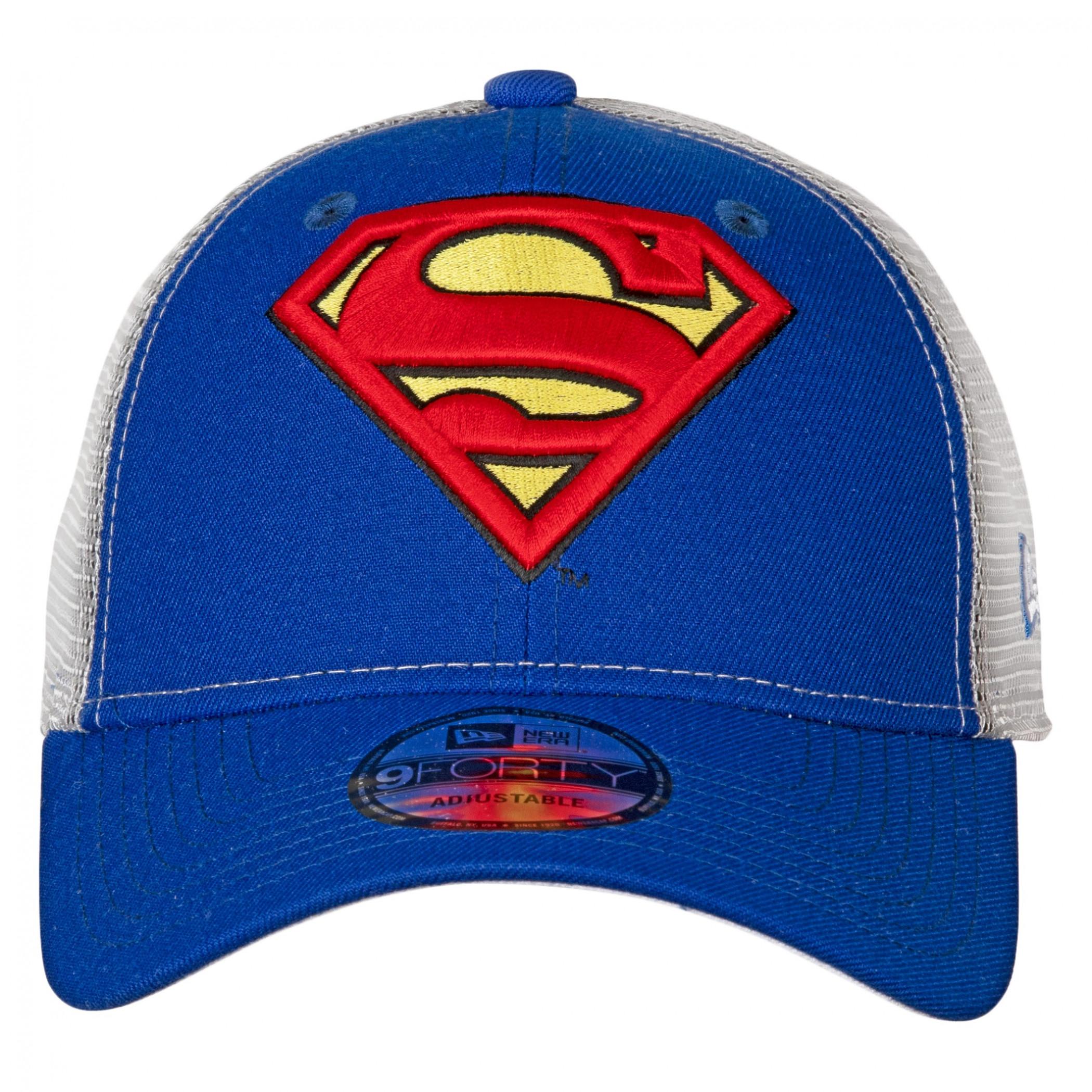 Superman Symbol Trucker New Era 9Forty Adjustable Hat