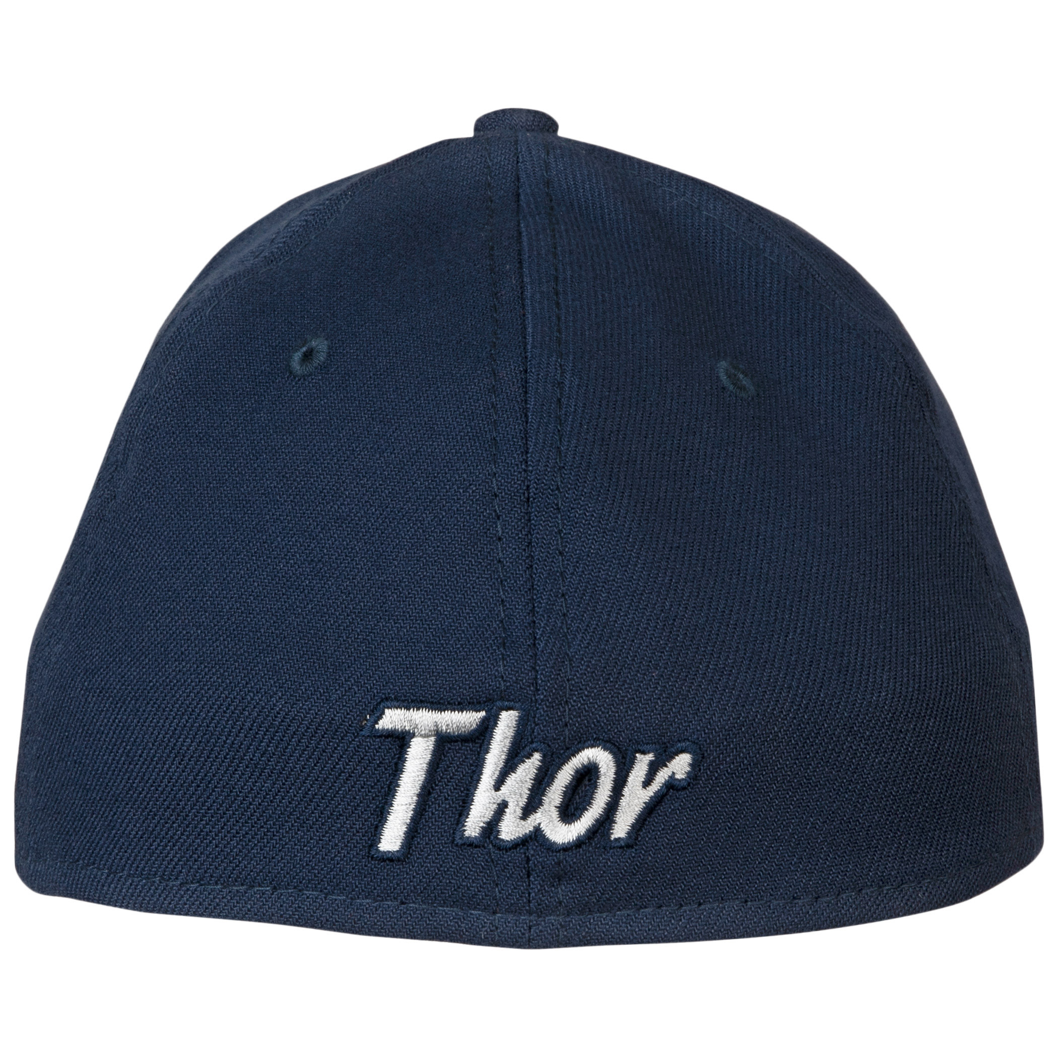Thor Mjolnir Symbol Color Block New Era 39Thirty Fitted Hat
