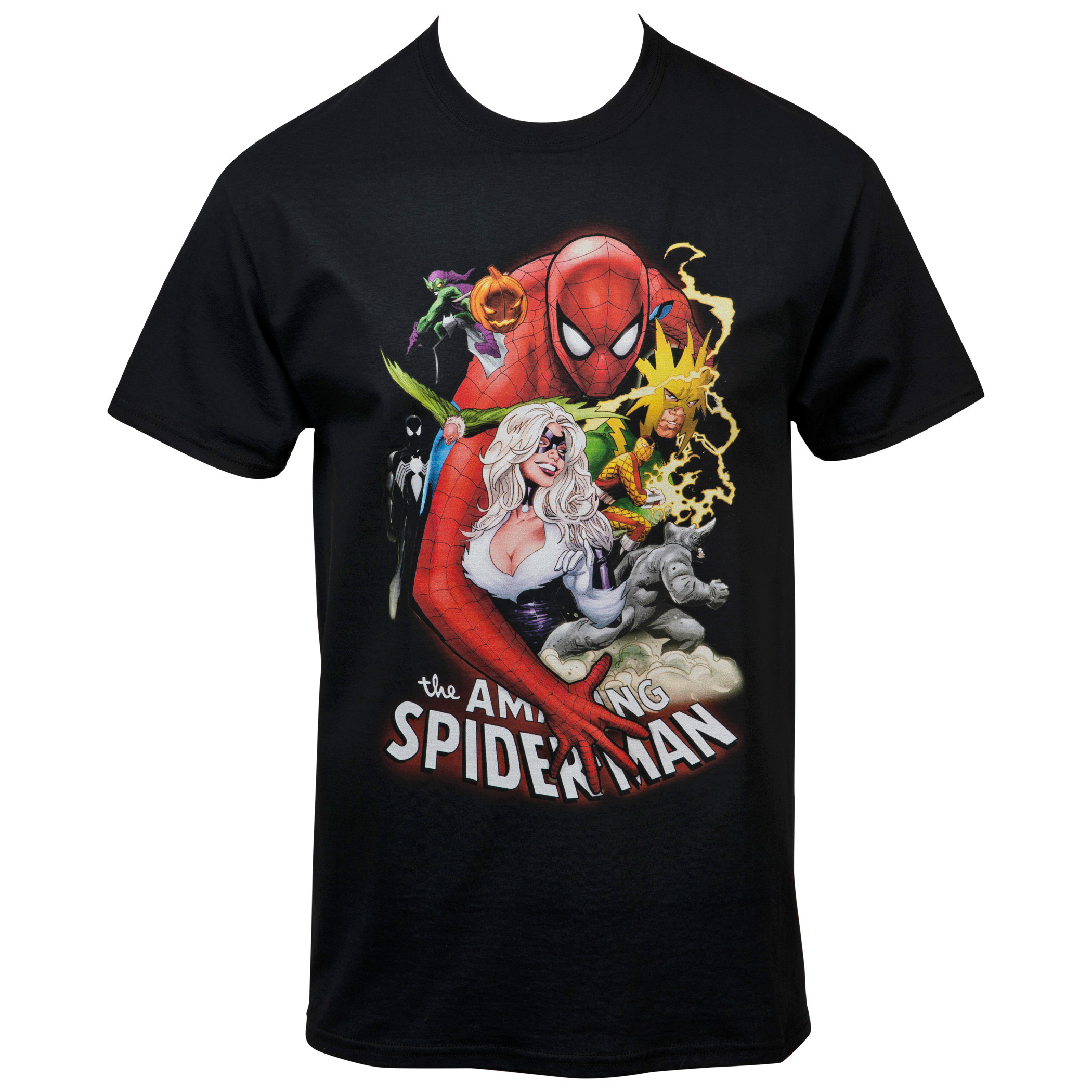 Marvel The Amazing Spider-Man Comic Cover T-Shirt