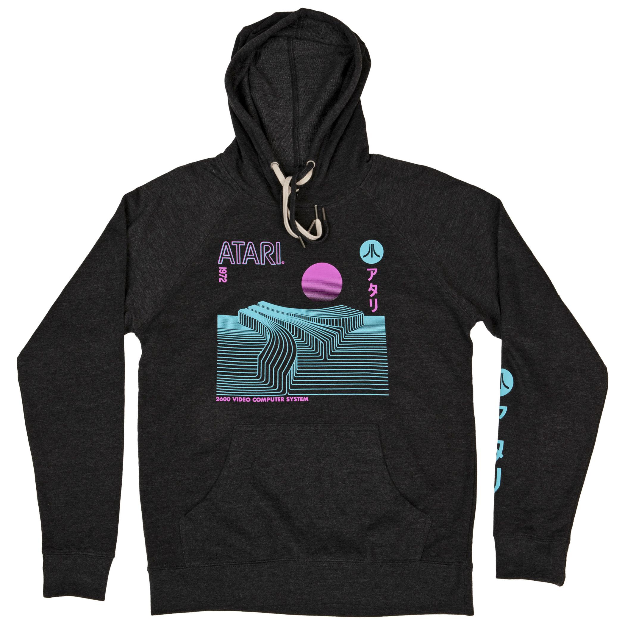 Atari Sleeve Print Hoodie