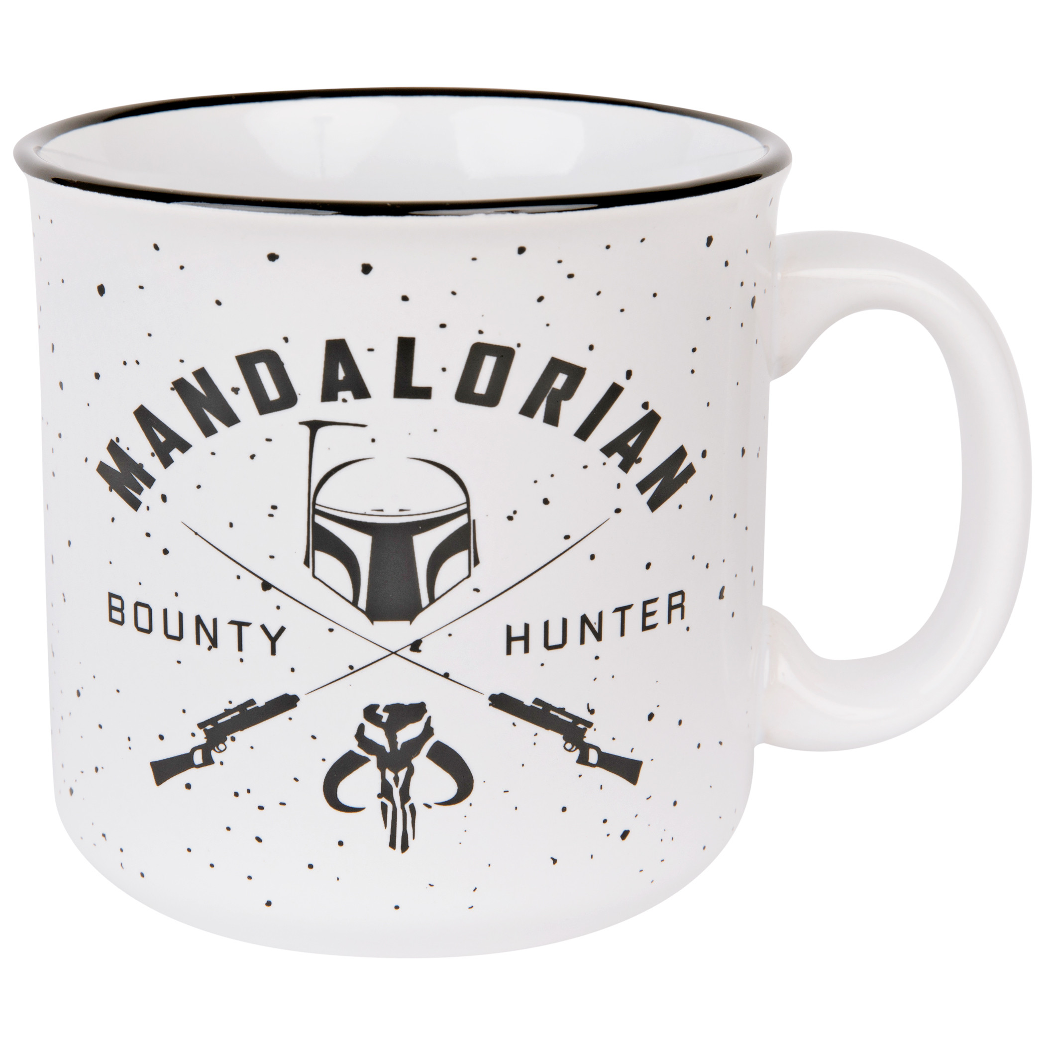 Star Wars The Mandalorian Bounty Hunter 20oz Ceramic Camper Mug