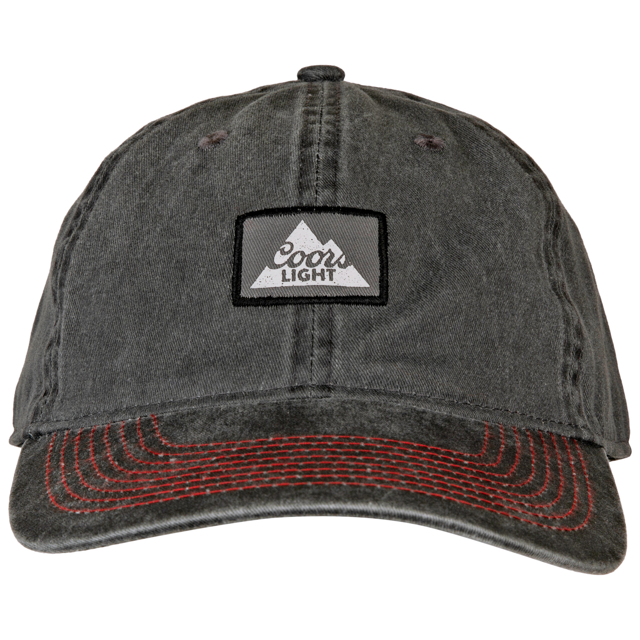 Coors Lite Mountain Patch Logo Heavy Wash Snapback Hat