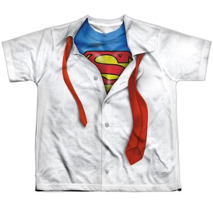 Superman Hidden Costume Youth Tshirt