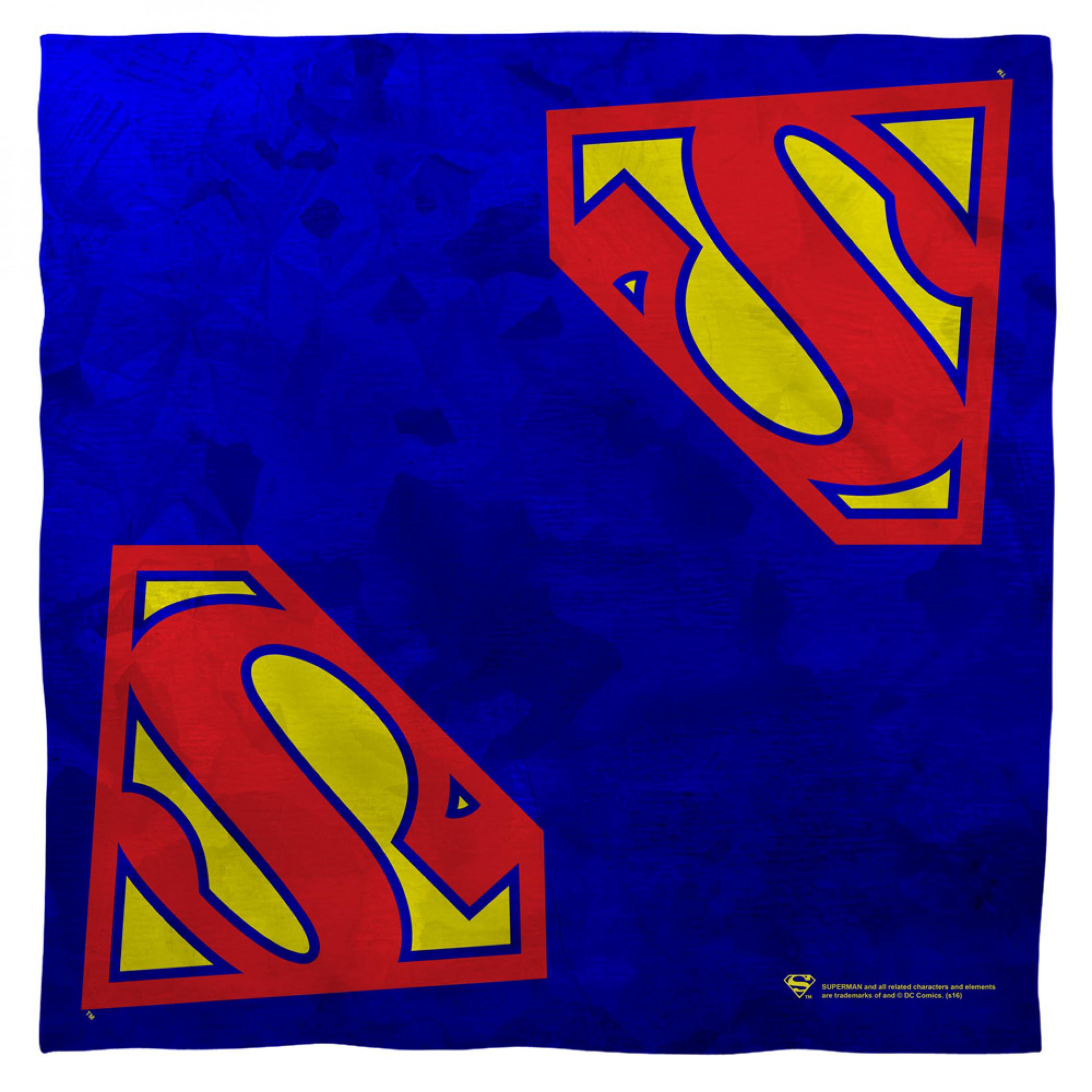 Superman Classic Logo Bandana