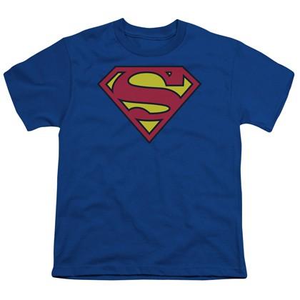 Superman Classic Logo Youth T-Shirt