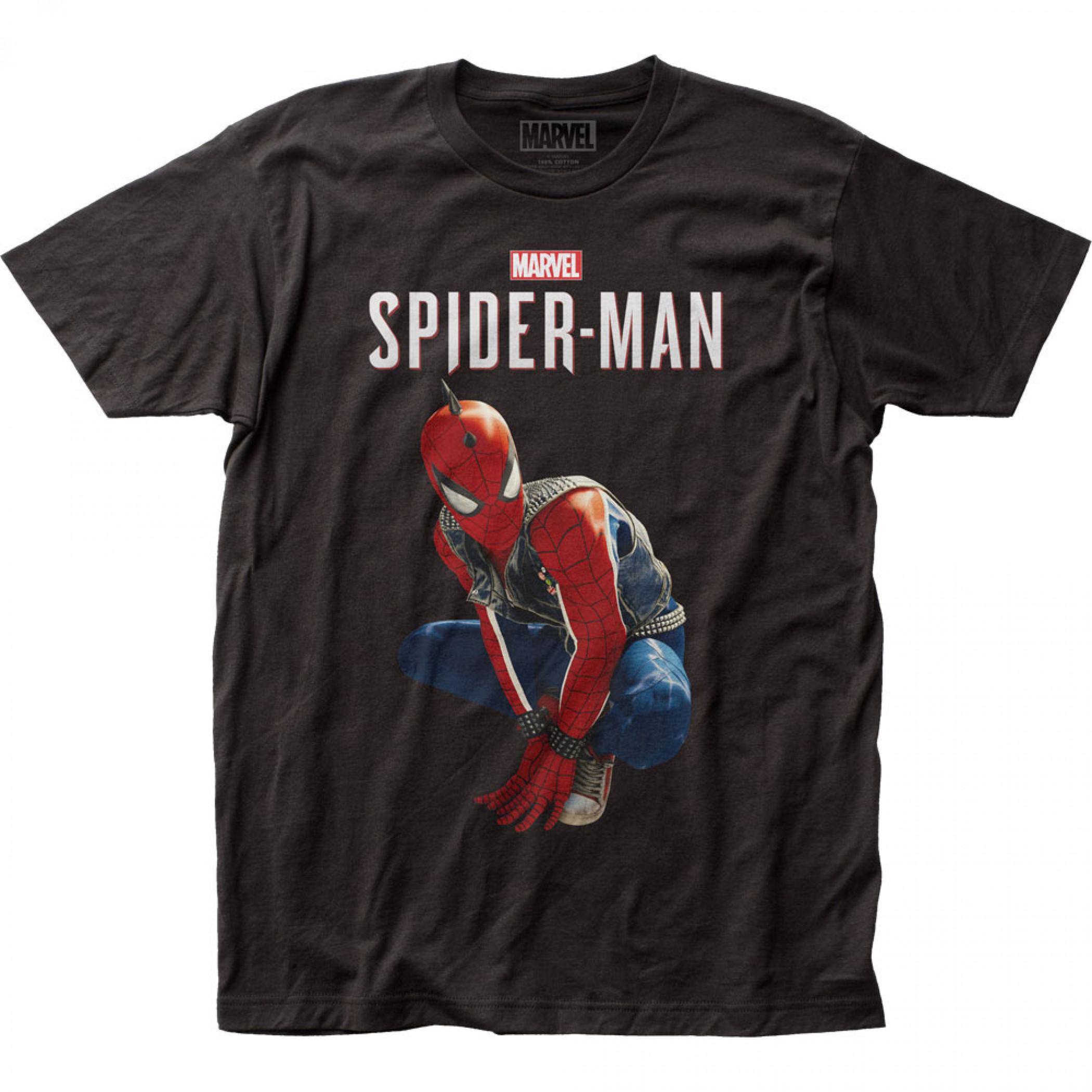 Spider-Man Hobie Brown Spider-Punk T-Shirt