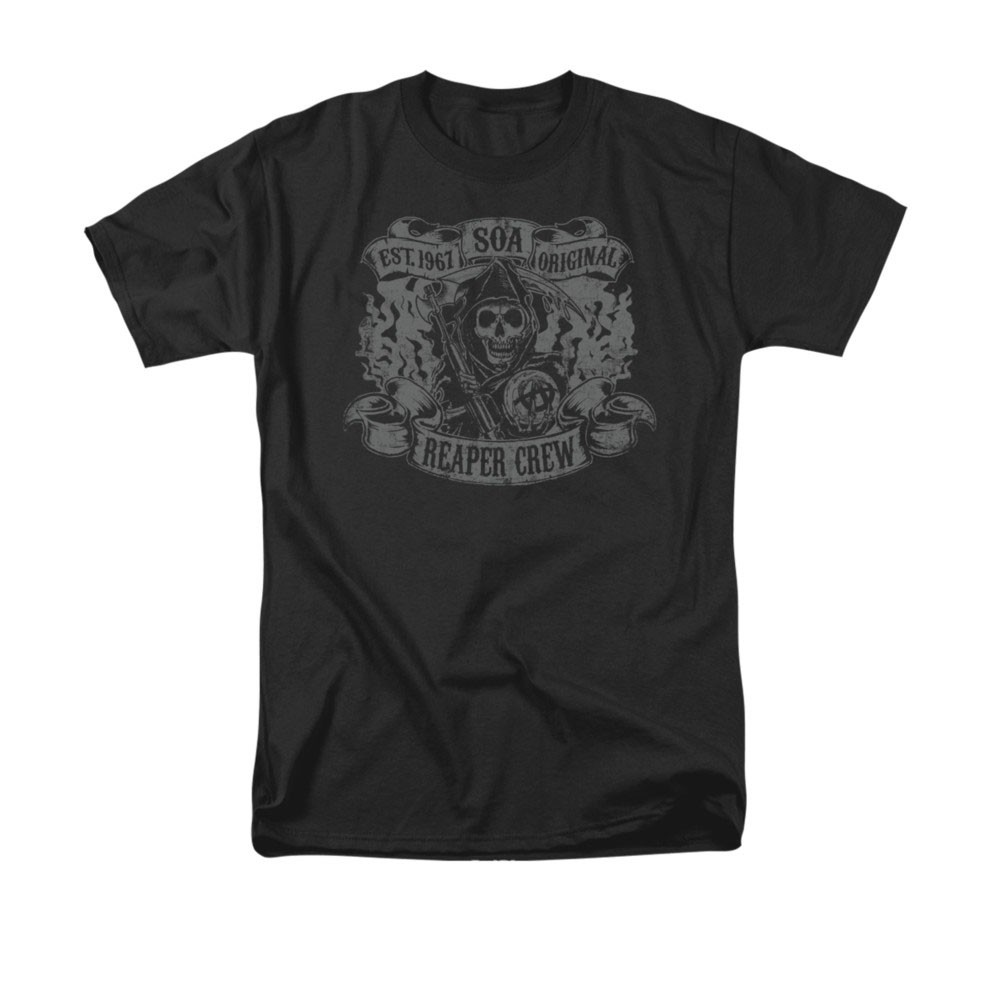 Sons Of Anarchy Original Reaper Crew Black T-Shirt