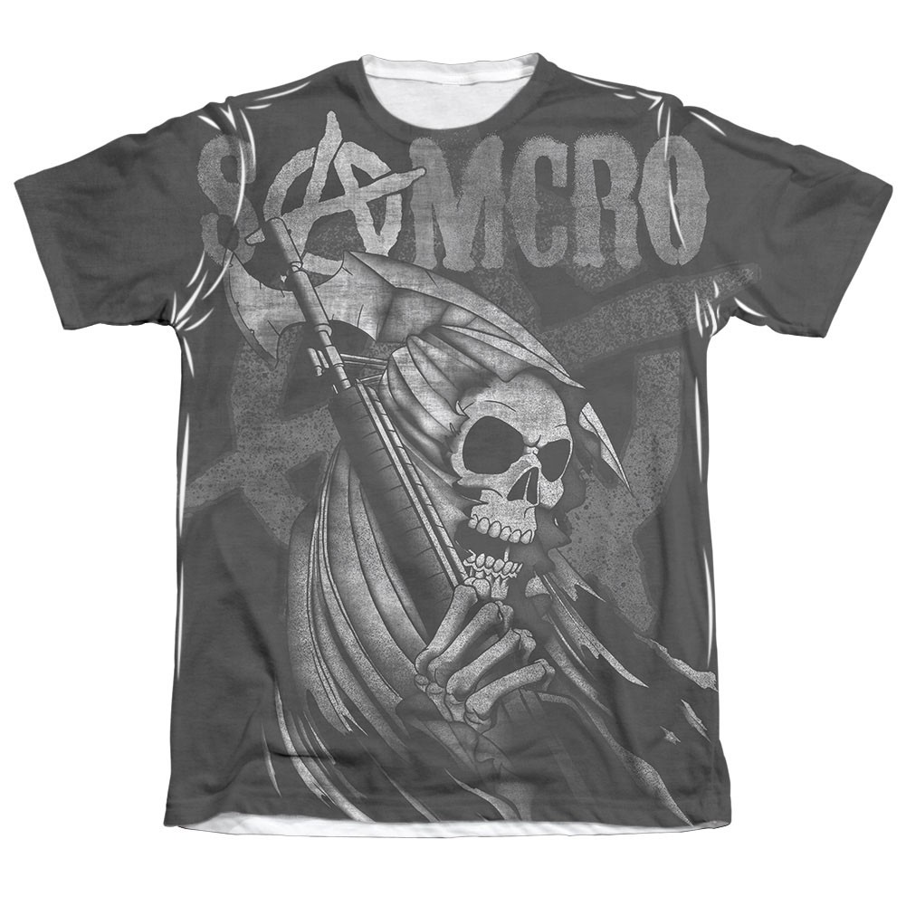 Sons Of Anarchy SAMCRO Reaper Sublimation T-Shirt