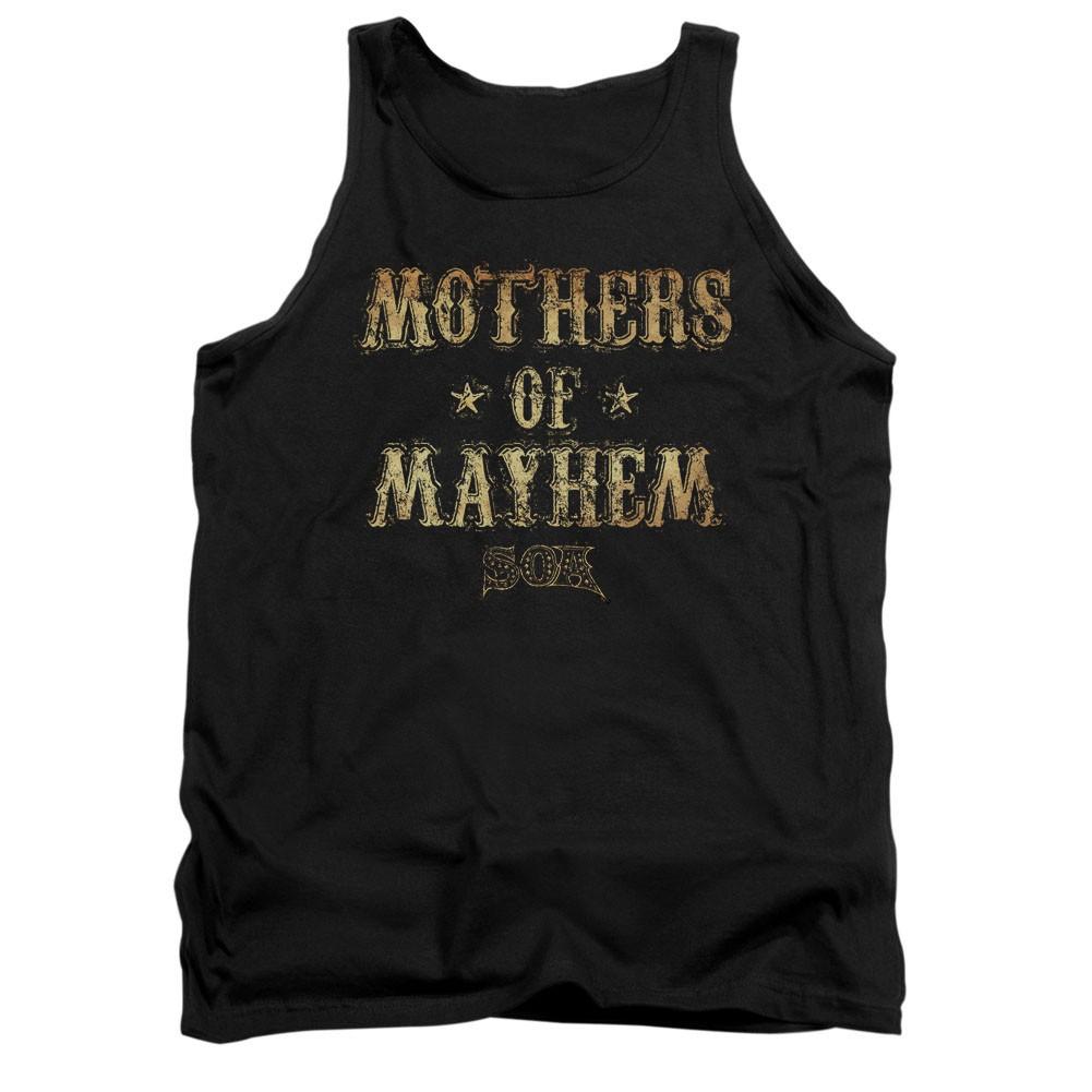 Sons Of Anarchy Mothers Of Mayhem Black Tank Top