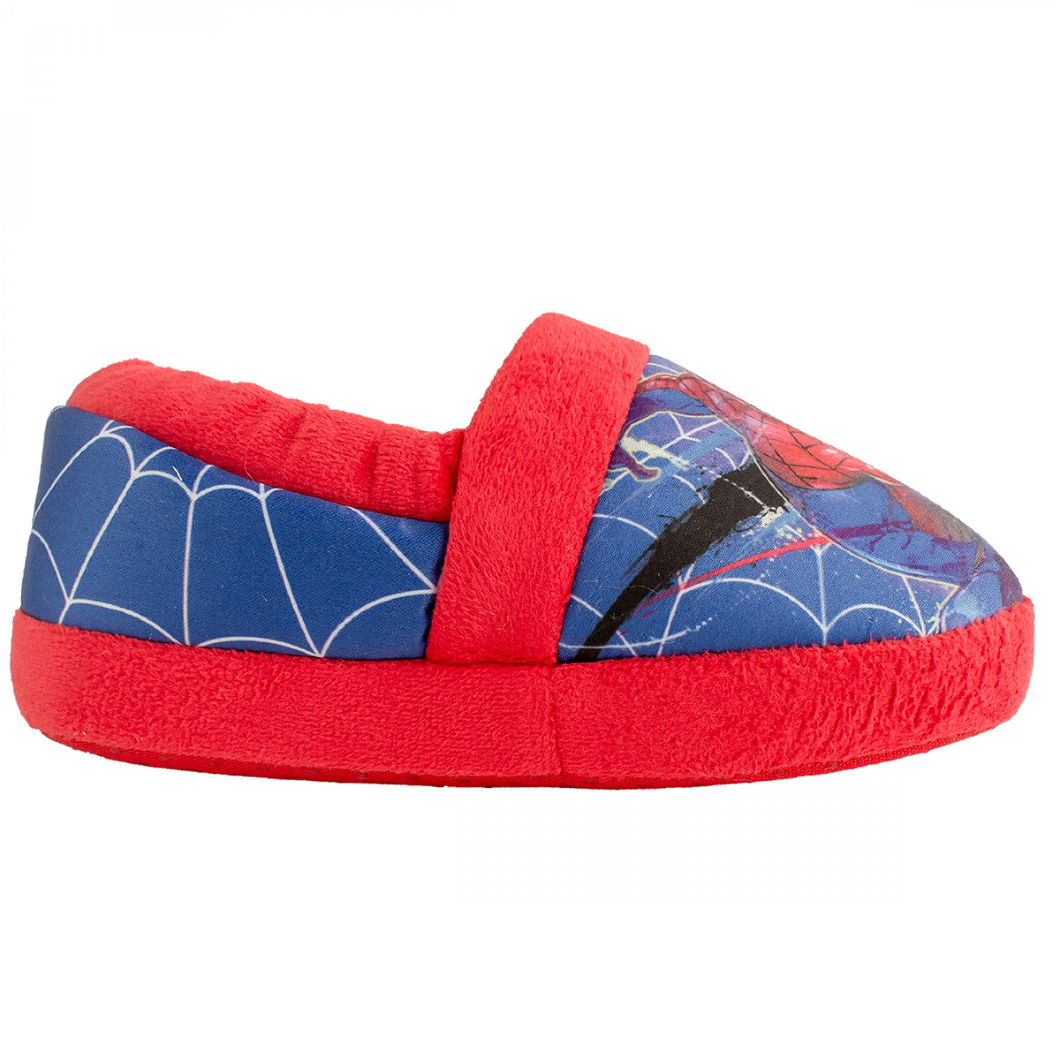 Spider-Man Swinging Web Kids House Slippers