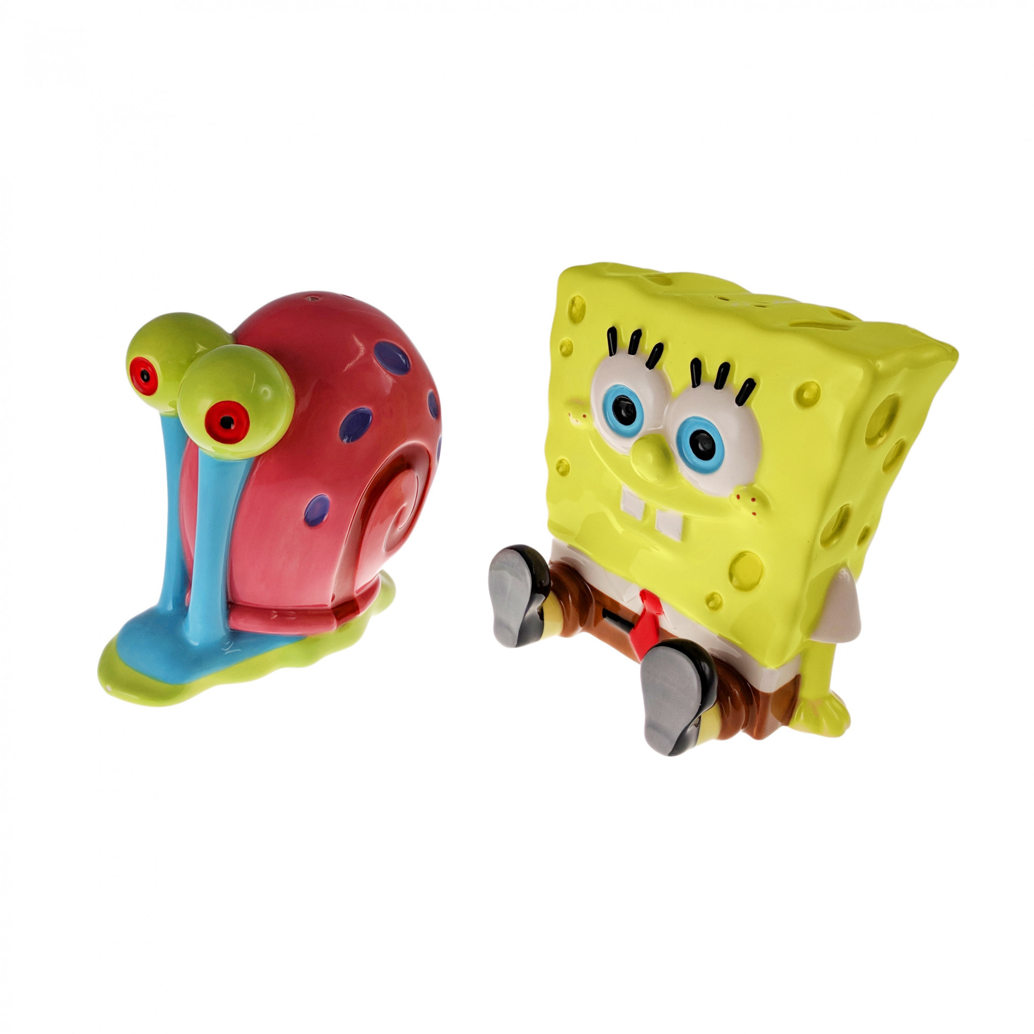 SpongeBob SquarePants and Gary Salt and Pepper Shaker Set