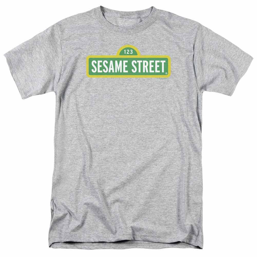 Sesame Street Logo Gray T-Shirt