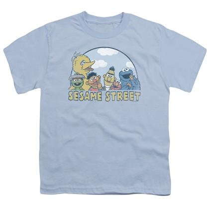 Sesame Street Logo Youth Tshirt