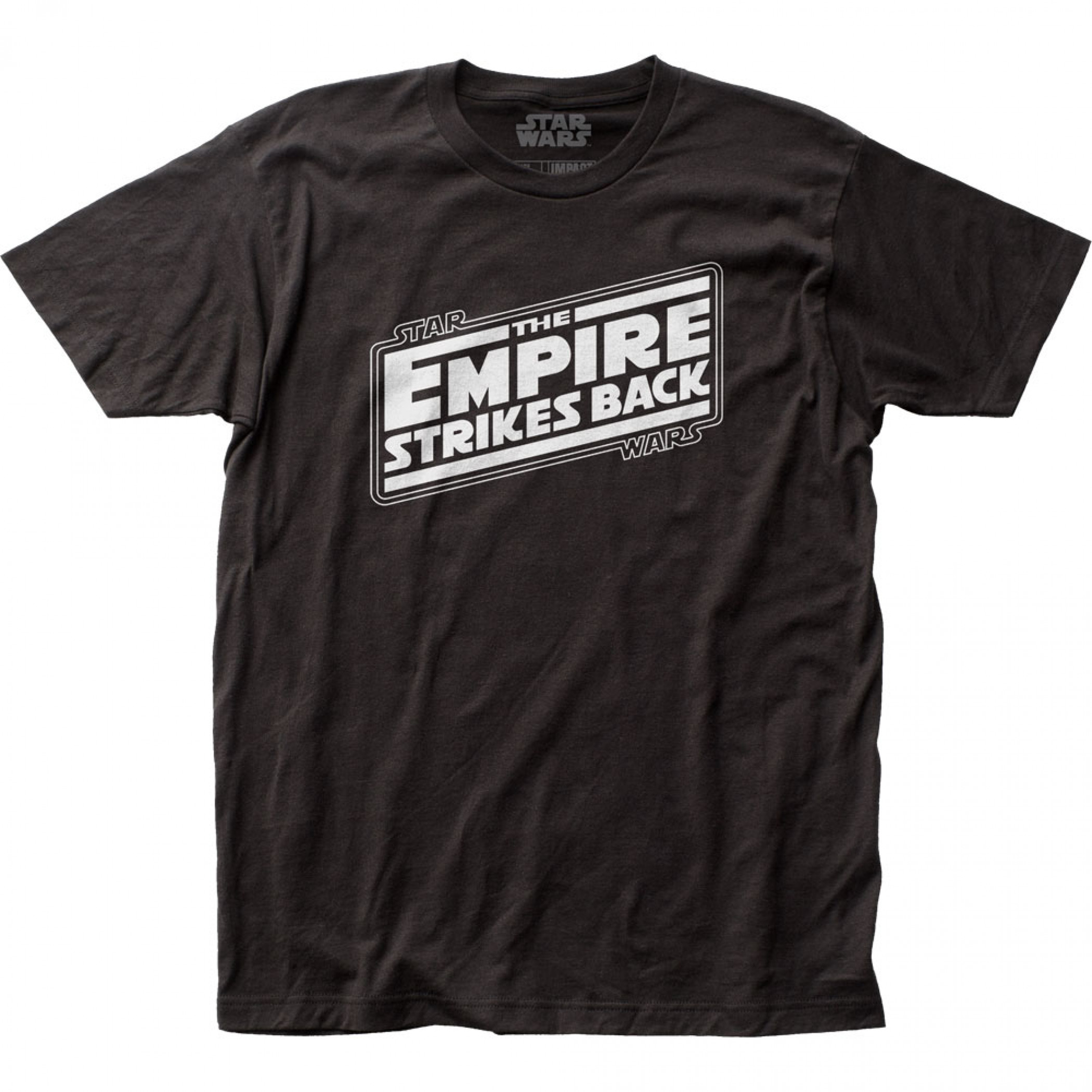Star Wars The Empire Strikes Back Title Card T-Shirt
