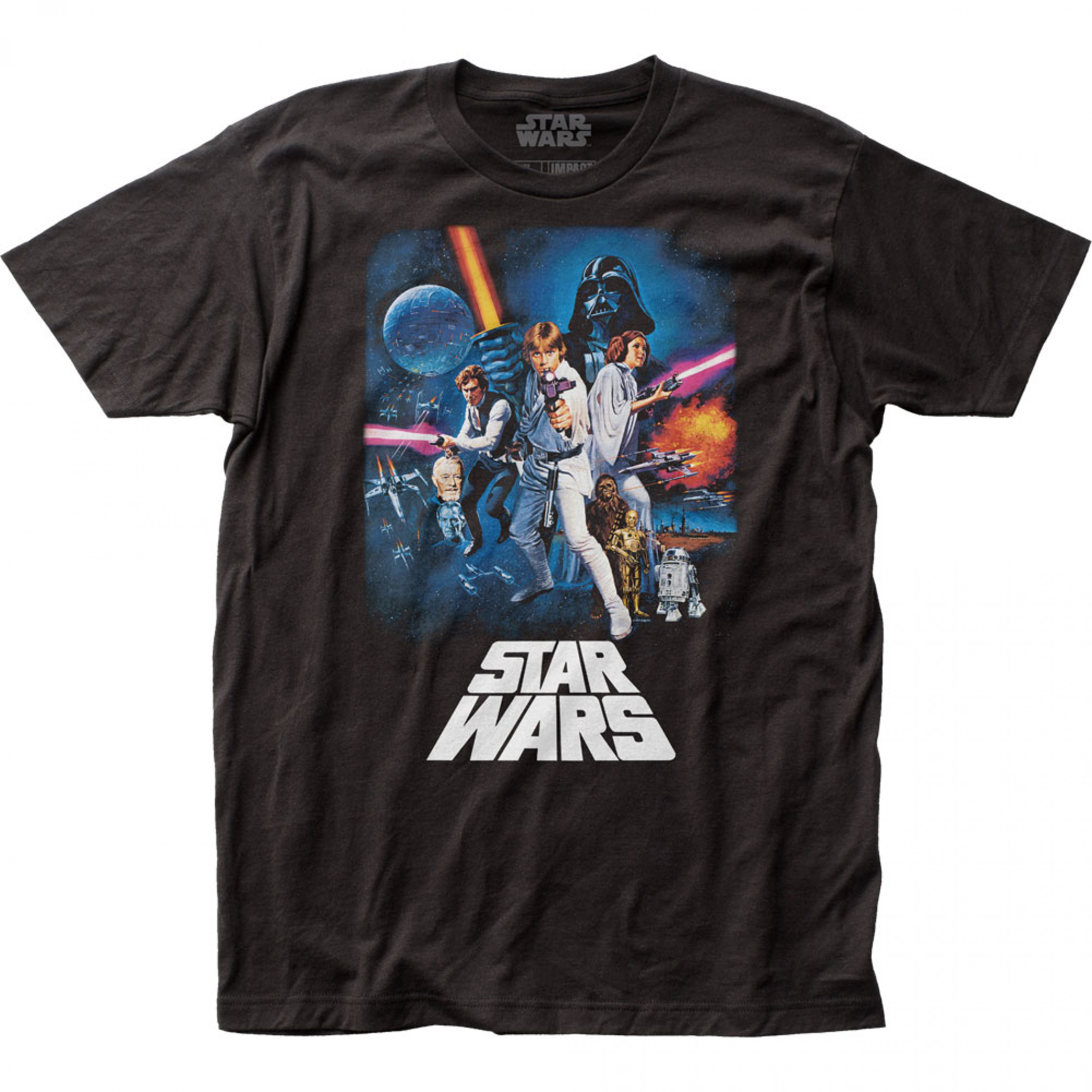 Star Wars A New Hope Movie Poster T-Shirt